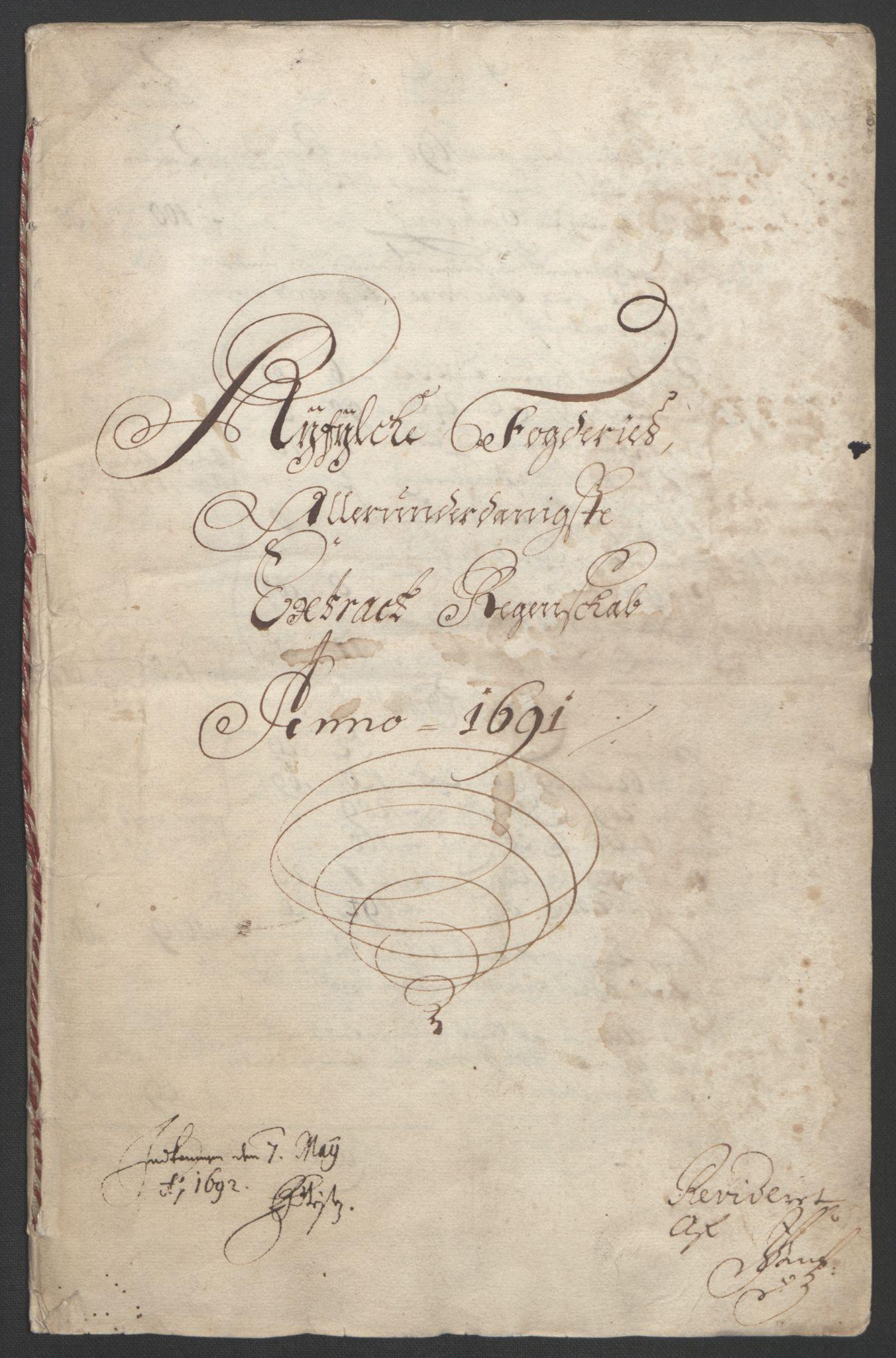 RA, Rentekammeret inntil 1814, Reviderte regnskaper, Fogderegnskap, R47/L2856: Fogderegnskap Ryfylke, 1689-1693, s. 318