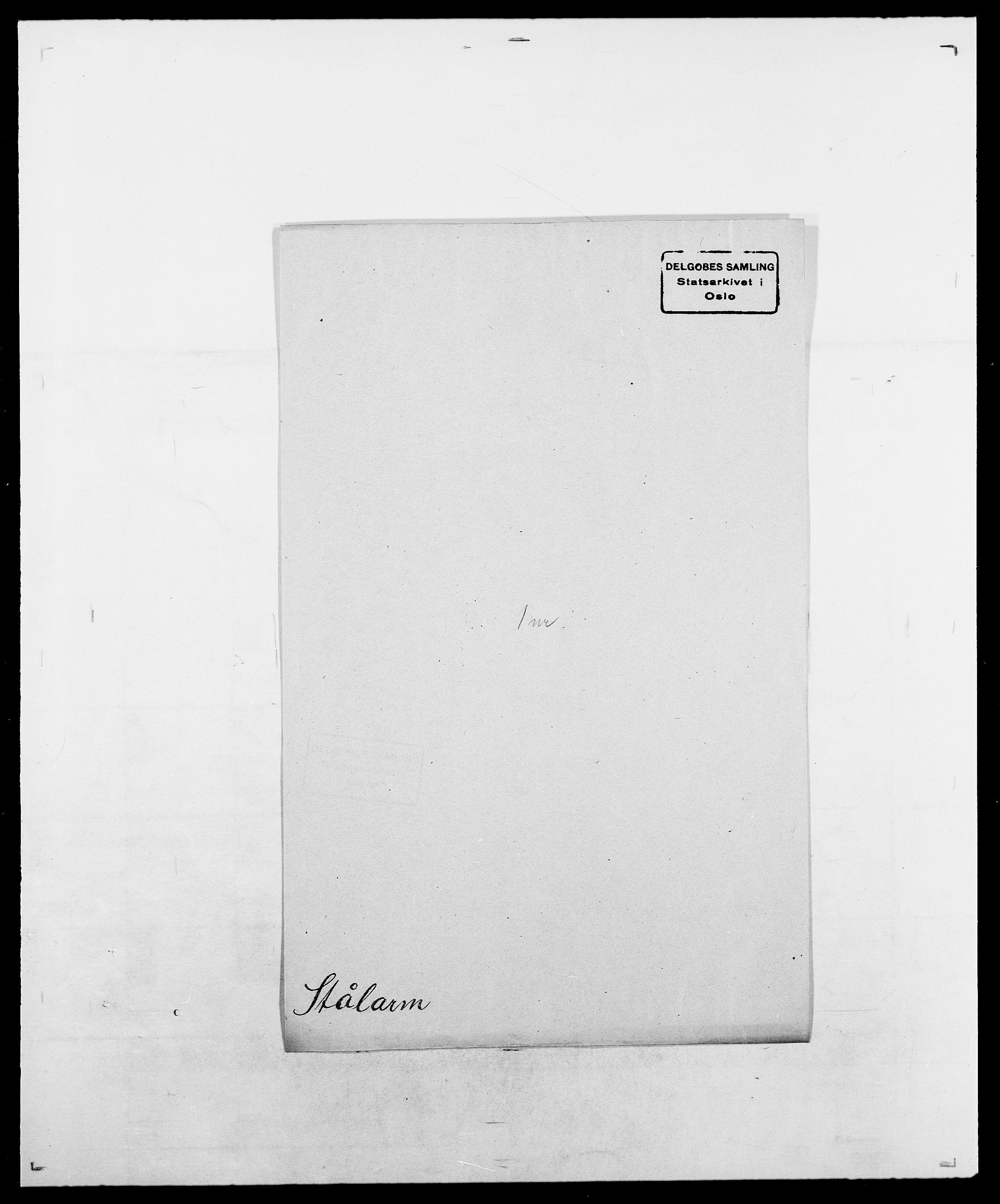 SAO, Delgobe, Charles Antoine - samling, D/Da/L0036: Skaanør - Staverskov, s. 601