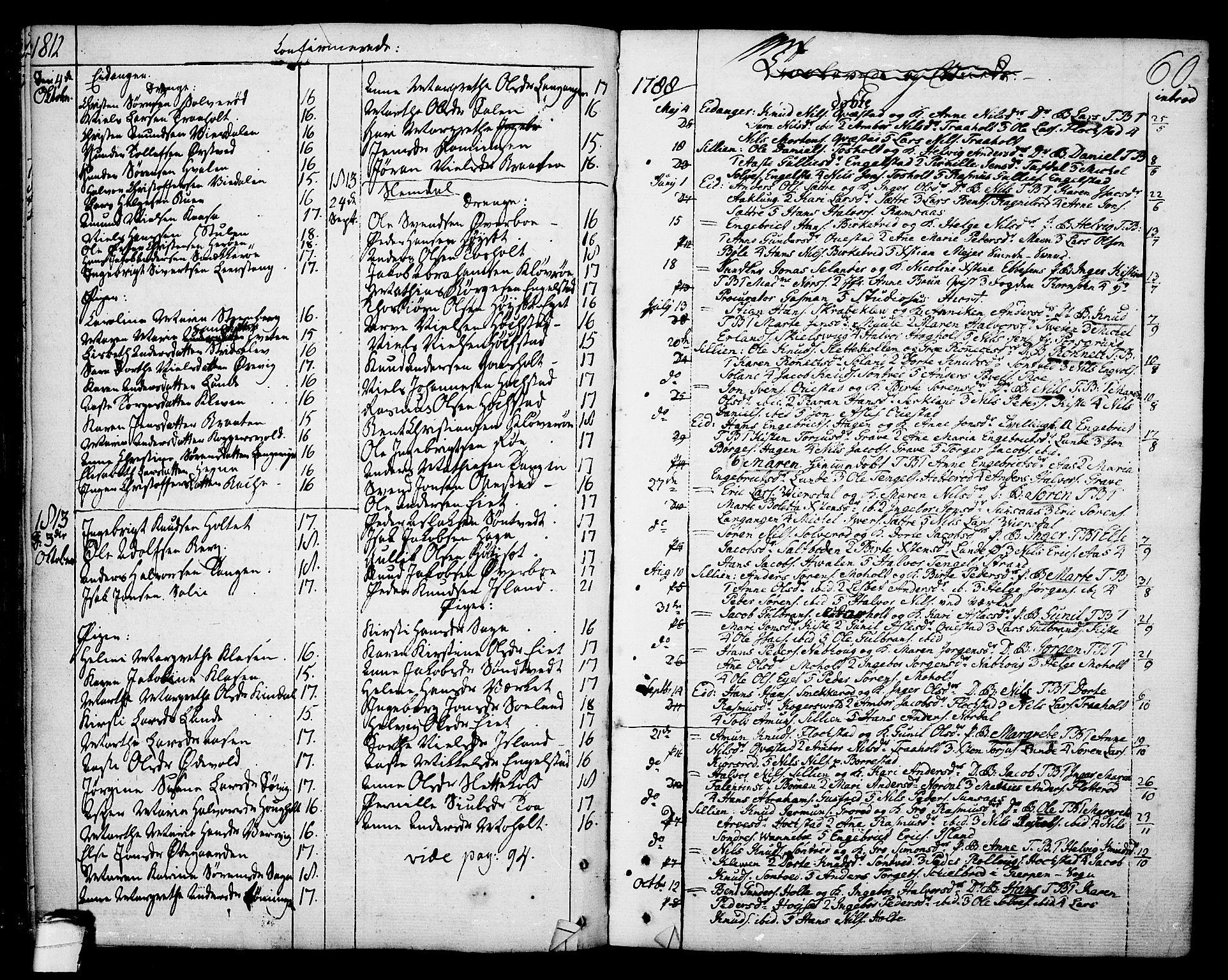 SAKO, Eidanger kirkebøker, F/Fa/L0006: Ministerialbok nr. 6, 1764-1814, s. 60