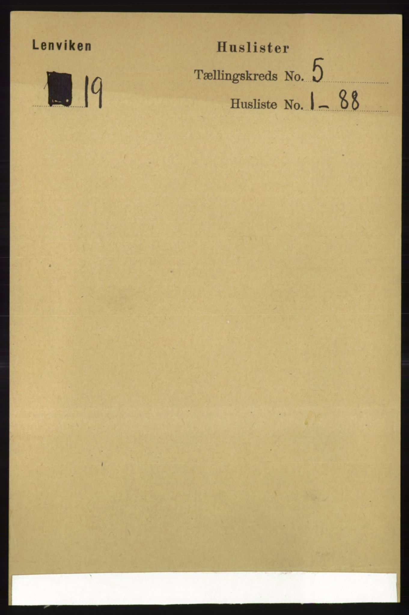 RA, Folketelling 1891 for 1931 Lenvik herred, 1891, s. 2458