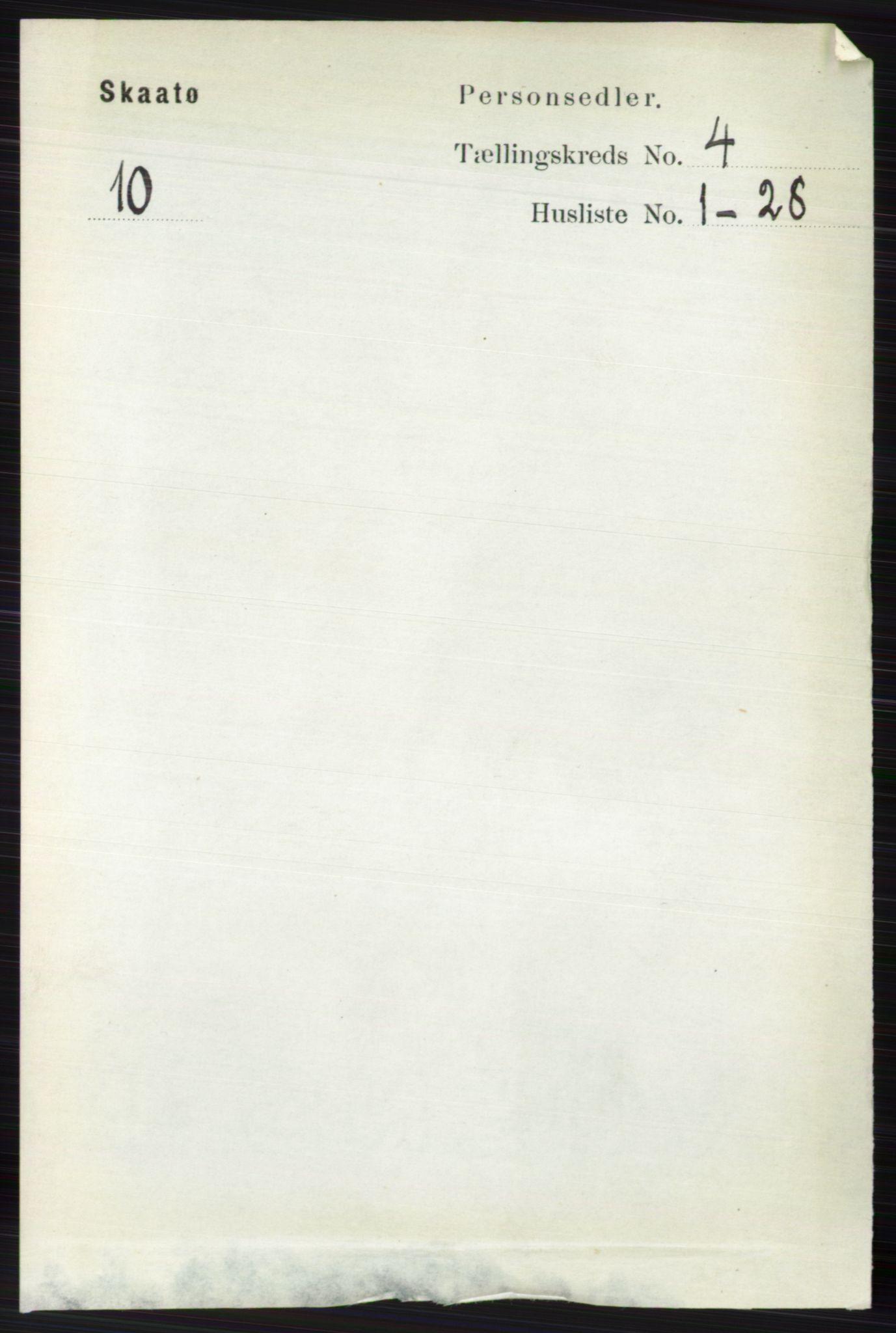 RA, Folketelling 1891 for 0815 Skåtøy herred, 1891, s. 1062