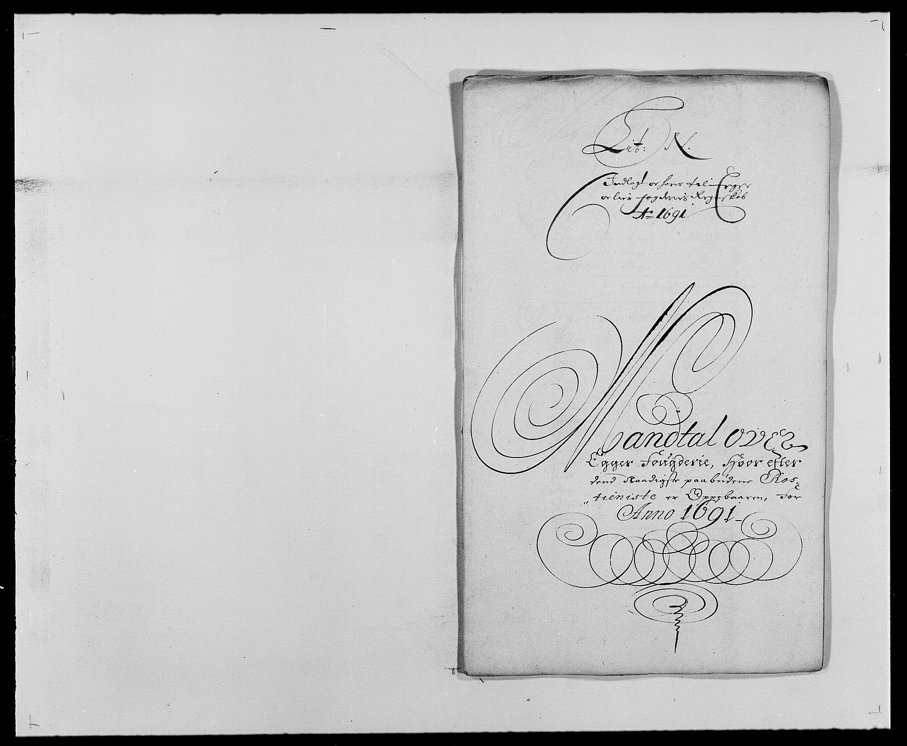RA, Rentekammeret inntil 1814, Reviderte regnskaper, Fogderegnskap, R28/L1689: Fogderegnskap Eiker og Lier, 1690-1691, s. 316