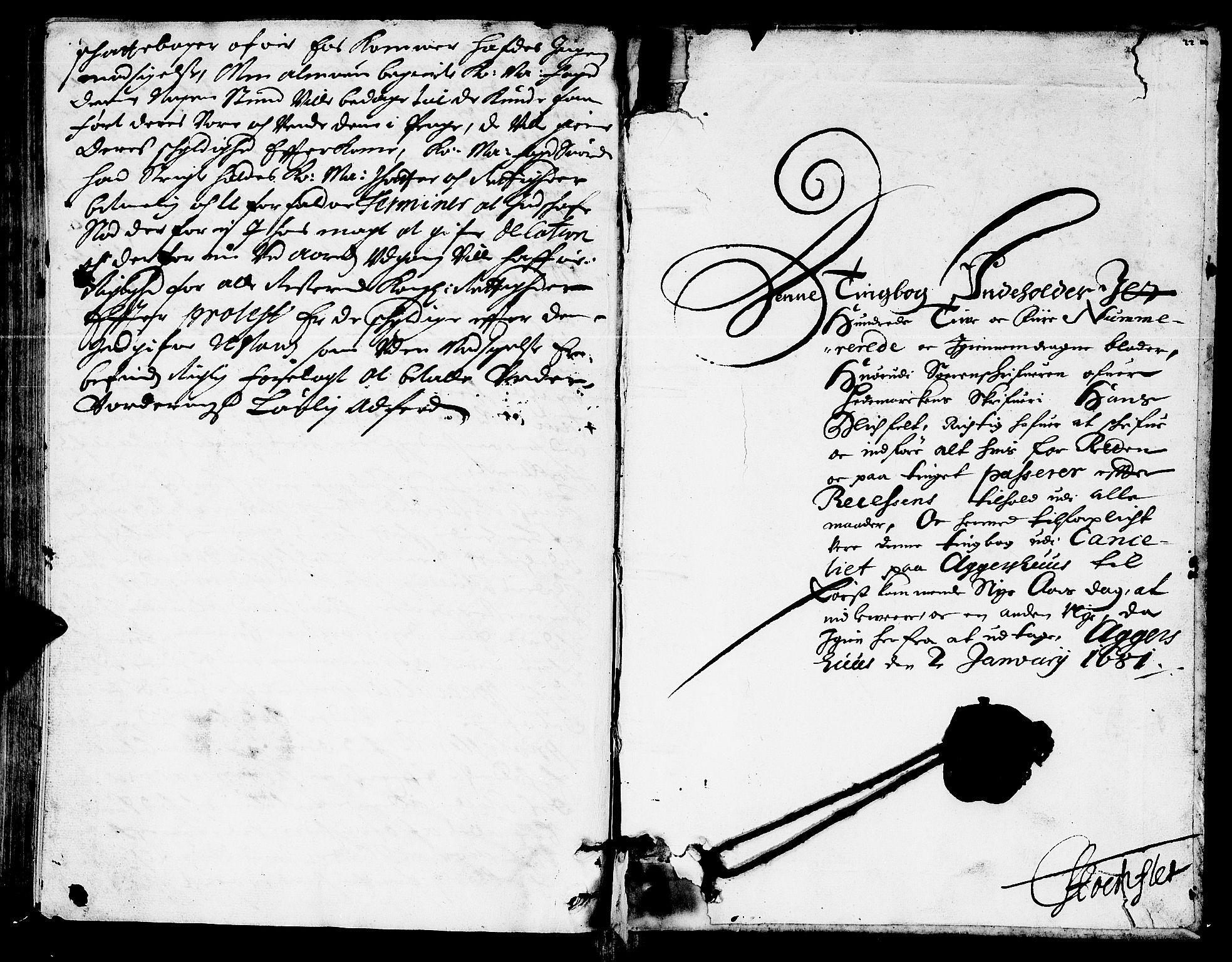 SAH, Hedemarken sorenskriveri, G/Gb/L0017: Tingbok, 1681, s. 124b-125a