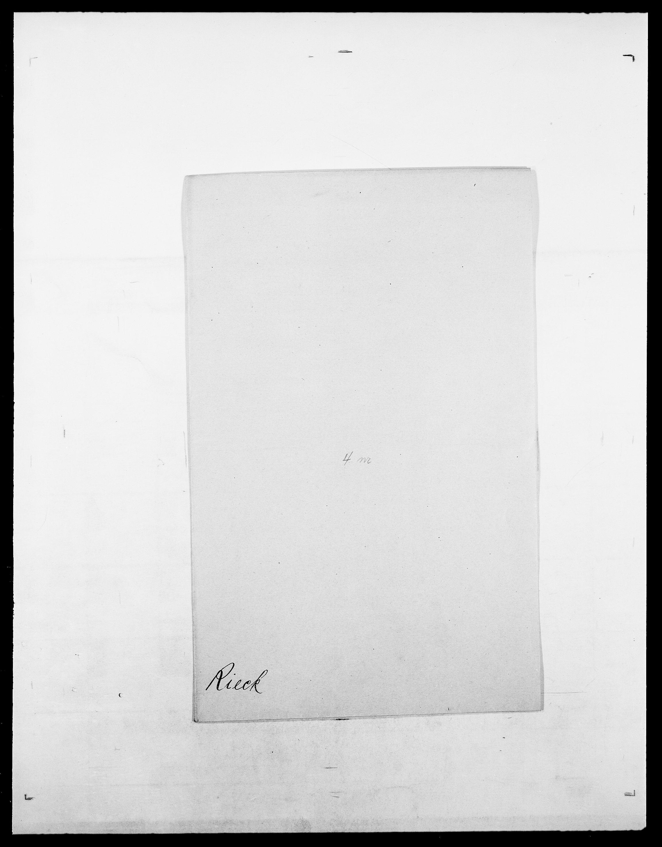 SAO, Delgobe, Charles Antoine - samling, D/Da/L0032: Rabakovsky - Rivertz, s. 573