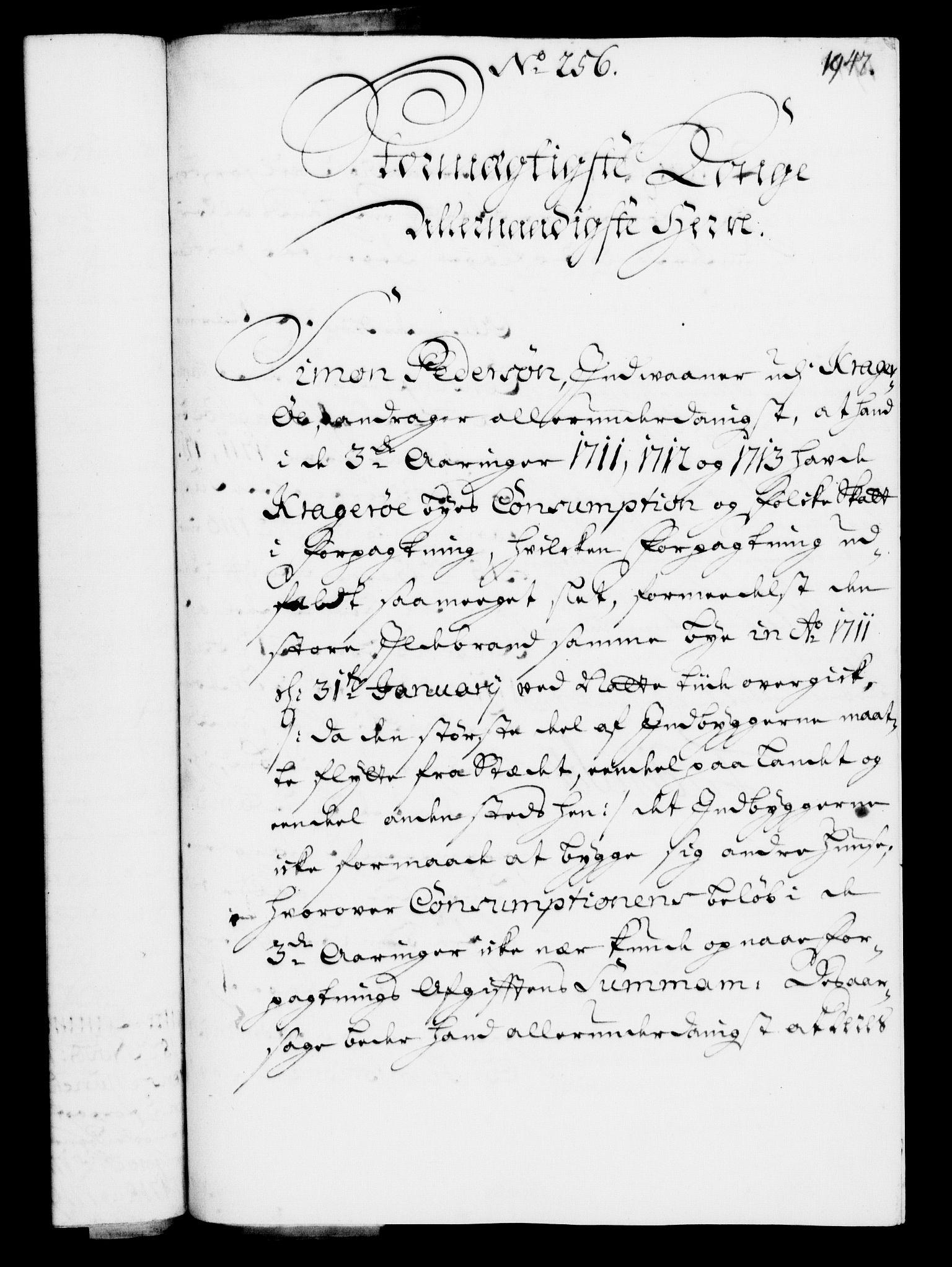 RA, Rentekammeret, Kammerkanselliet, G/Gf/Gfa/L0003: Norsk relasjons- og resolusjonsprotokoll (merket RK 52.3), 1720, s. 920