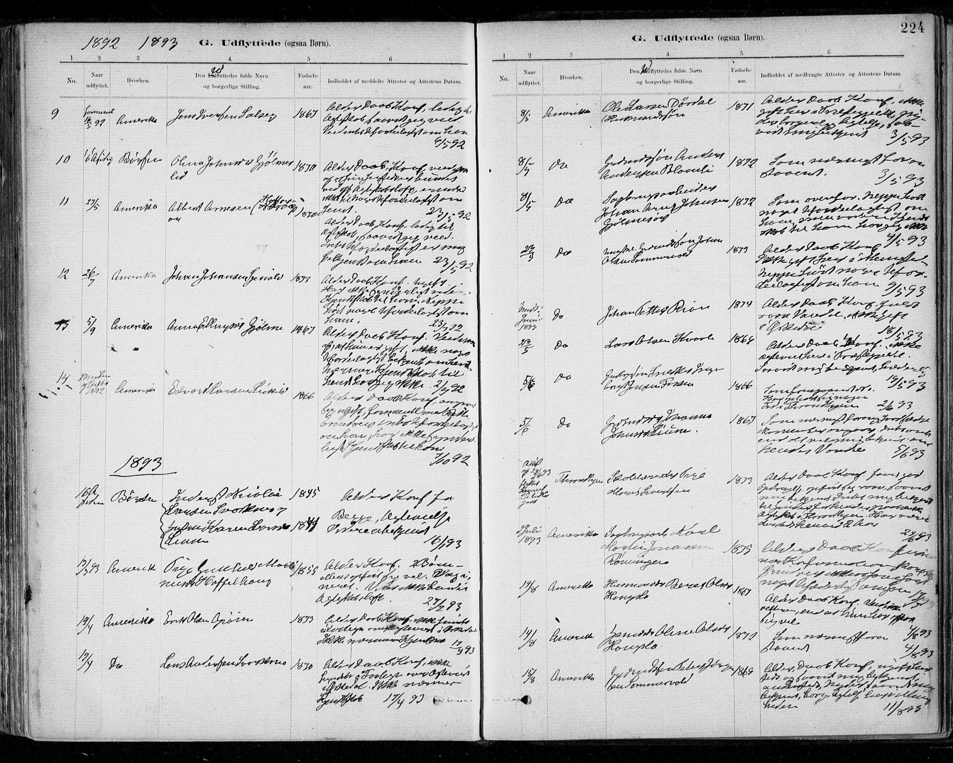 SAT, Ministerialprotokoller, klokkerbøker og fødselsregistre - Sør-Trøndelag, 668/L0810: Ministerialbok nr. 668A10, 1881-1894, s. 224