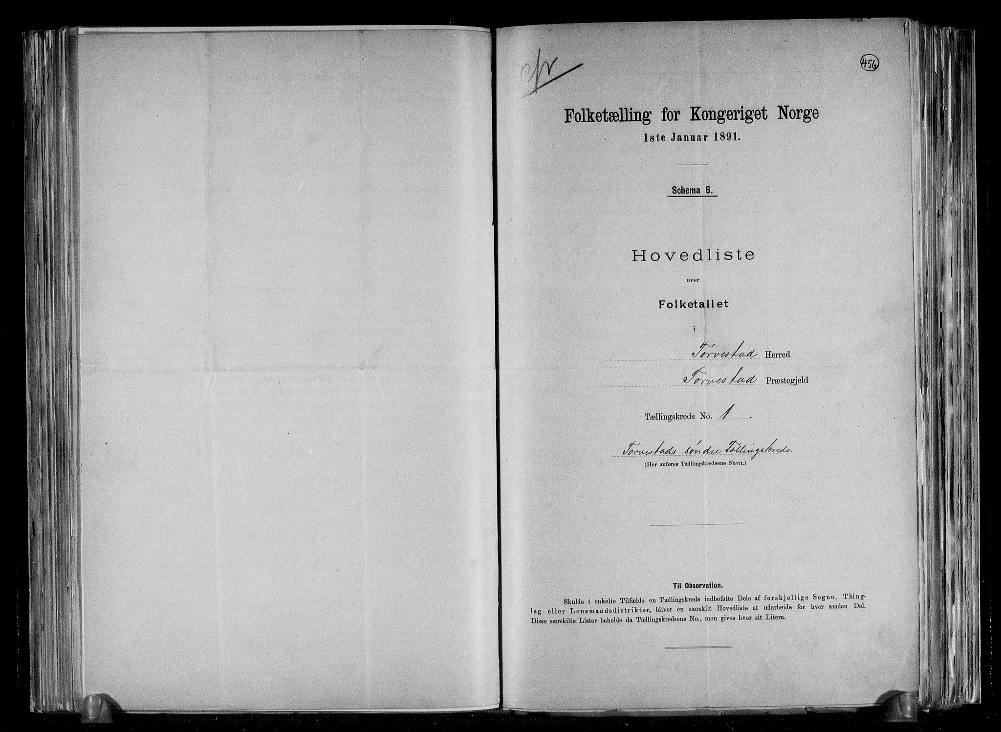 RA, Folketelling 1891 for 1152 Torvastad herred, 1891, s. 4
