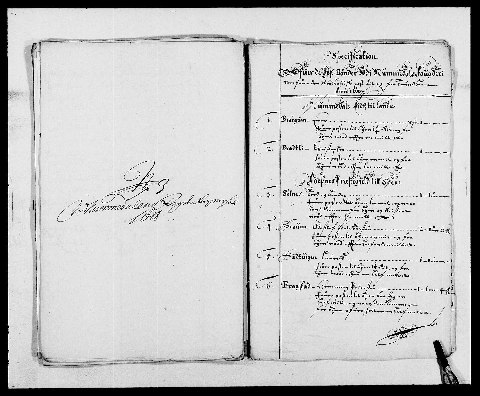 RA, Rentekammeret inntil 1814, Reviderte regnskaper, Fogderegnskap, R64/L4422: Fogderegnskap Namdal, 1687-1689, s. 184