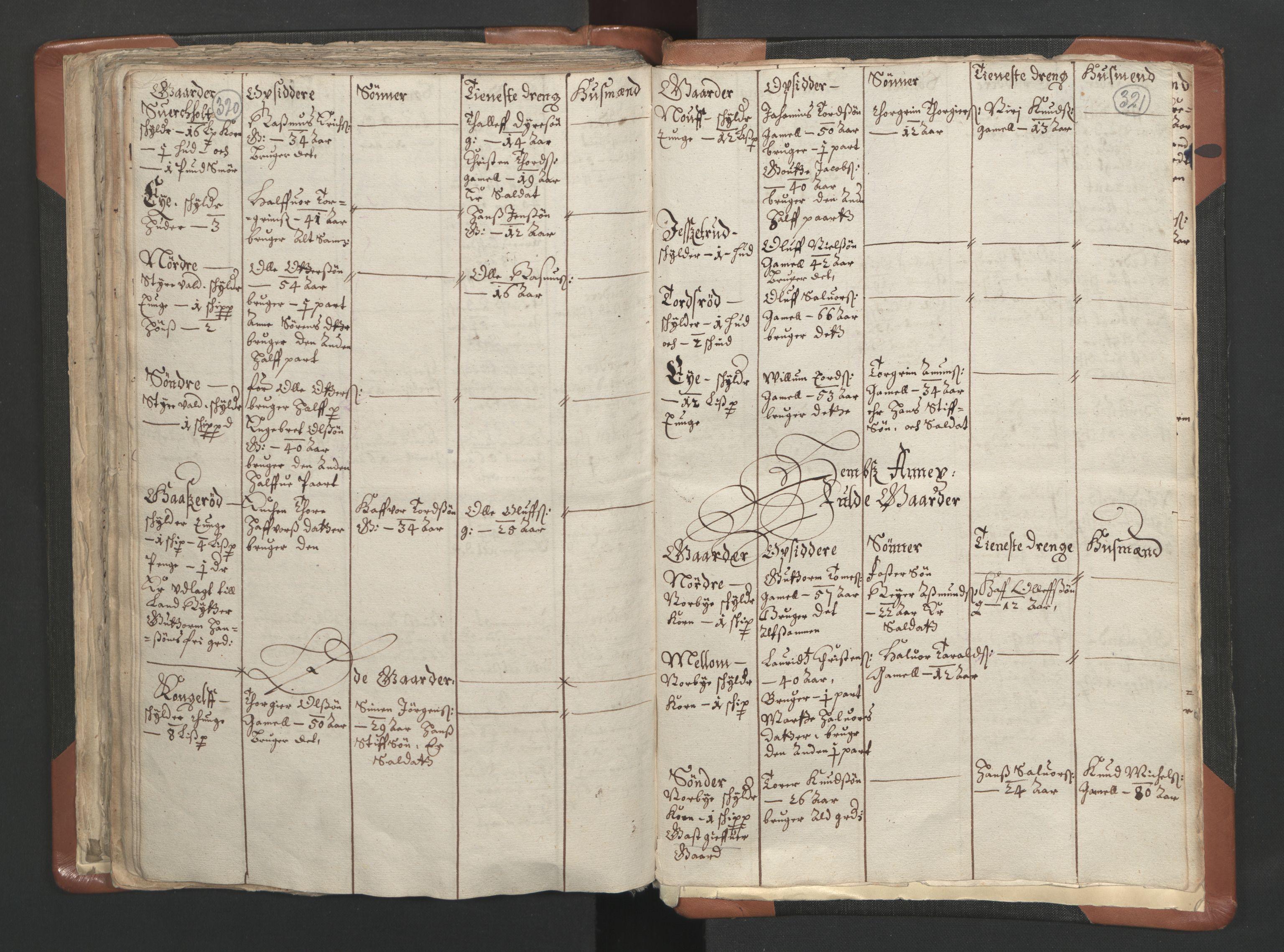 RA, Sogneprestenes manntall 1664-1666, nr. 10: Tønsberg prosti, 1664-1666, s. 320-321