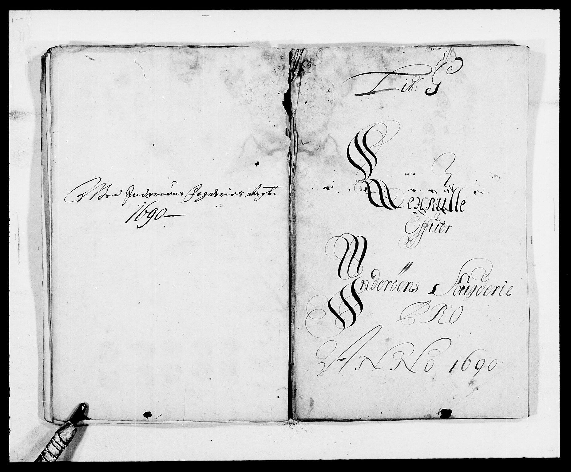 RA, Rentekammeret inntil 1814, Reviderte regnskaper, Fogderegnskap, R63/L4307: Fogderegnskap Inderøy, 1690-1691, s. 91