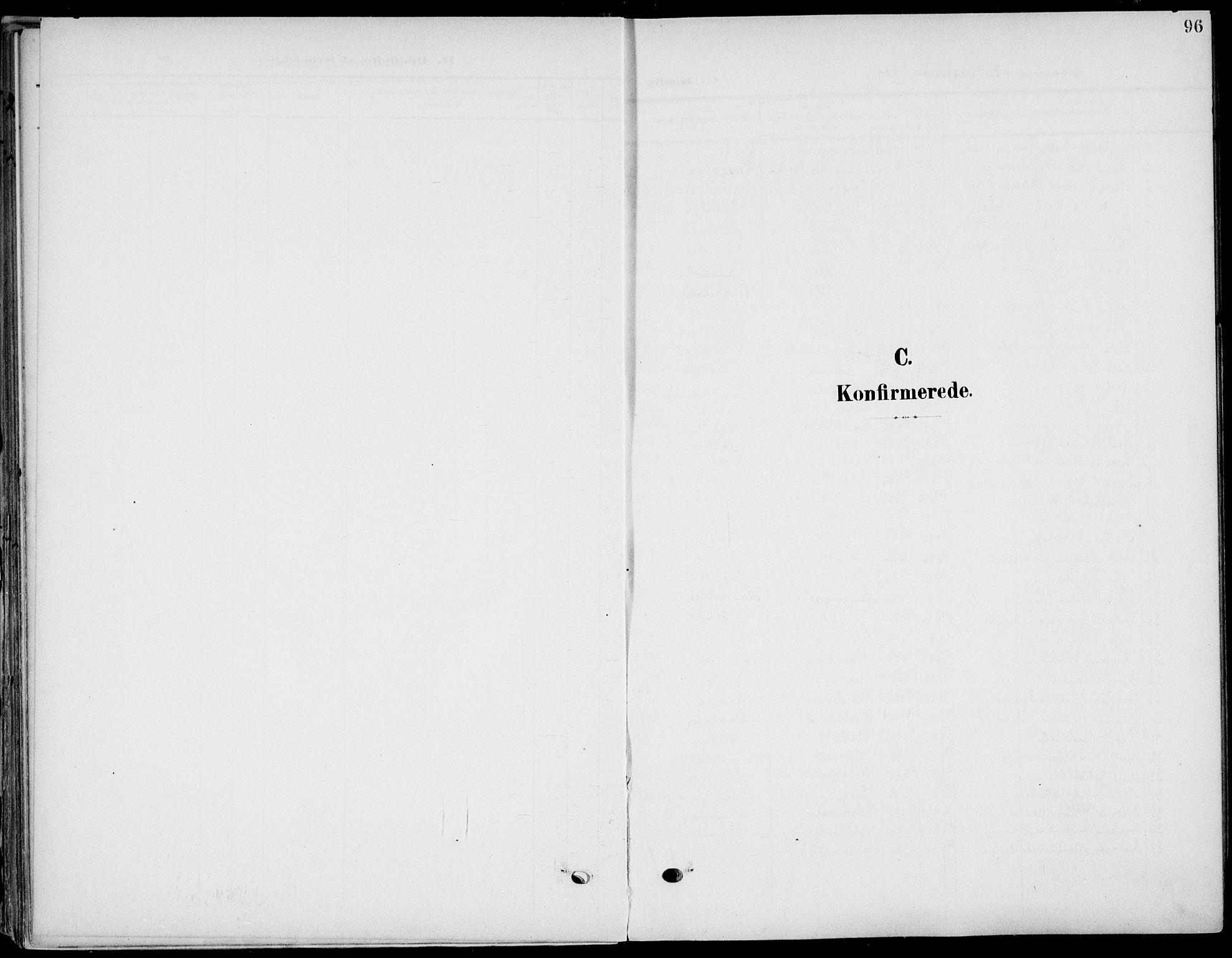 SAKO, Eidanger kirkebøker, F/Fa/L0013: Ministerialbok nr. 13, 1900-1913, s. 96