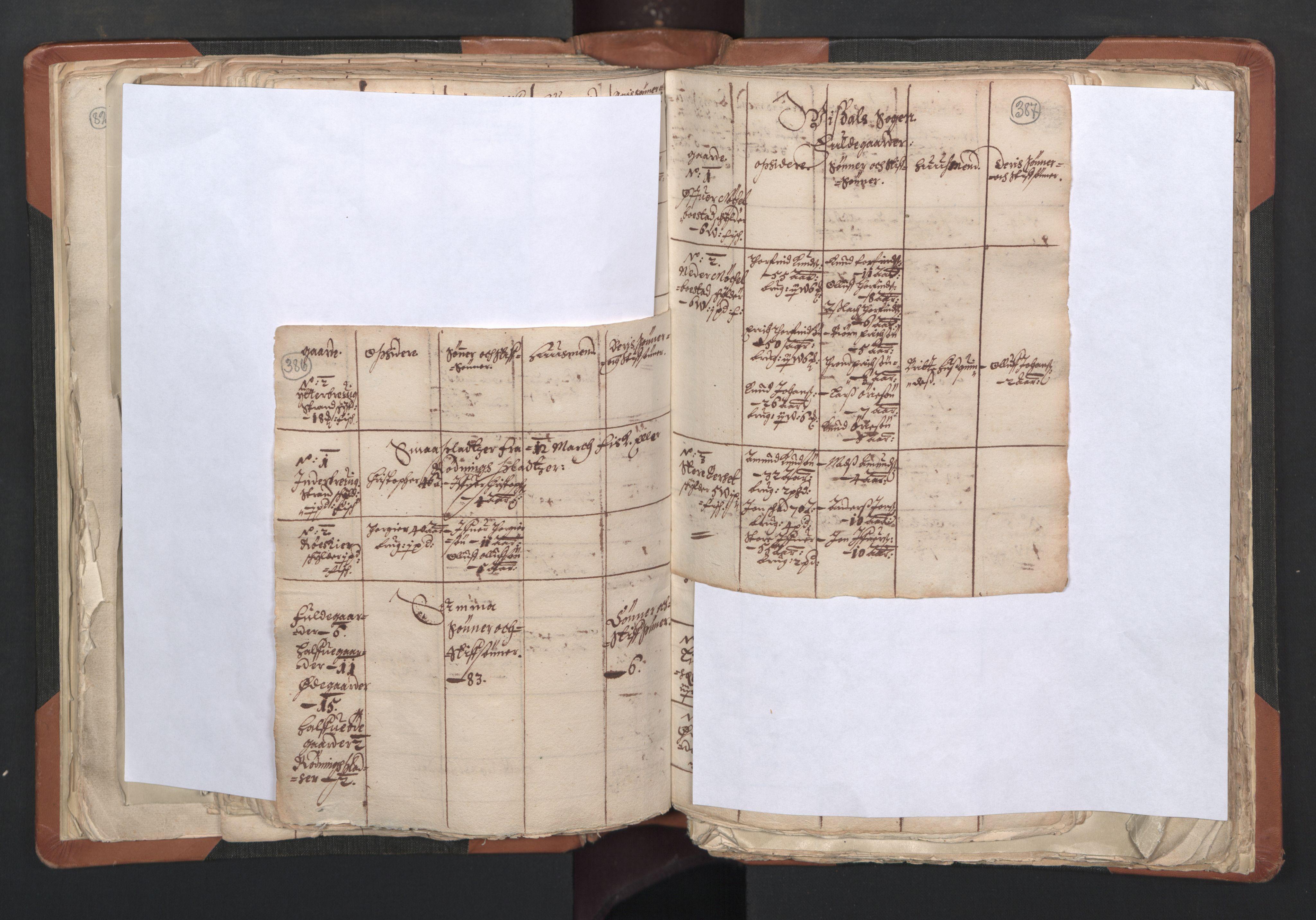 RA, Sogneprestenes manntall 1664-1666, nr. 27: Romsdal prosti, 1664-1666, s. 386-387
