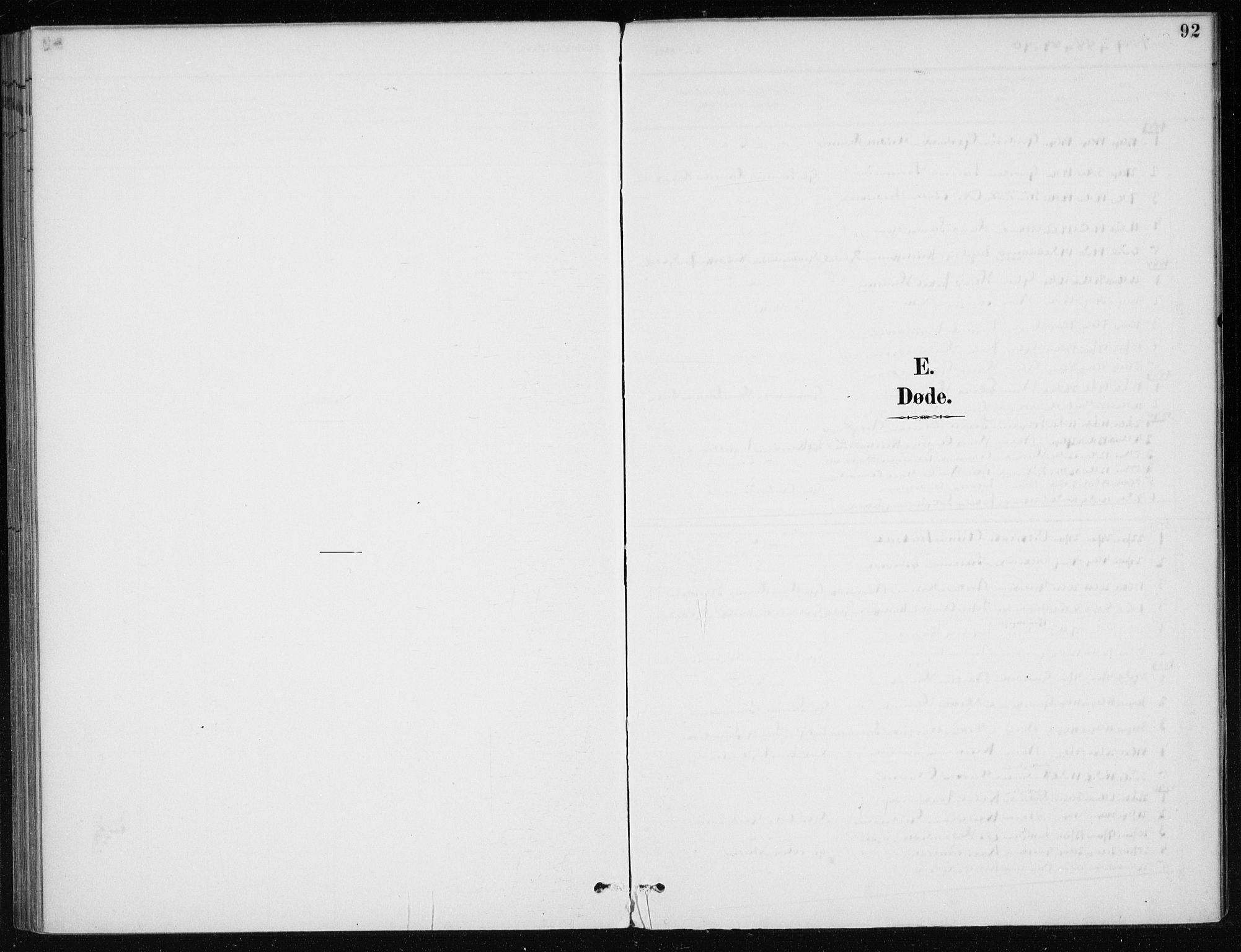 SAB, Kvinnherad Sokneprestembete, H/Haa: Ministerialbok nr. E 1, 1887-1912, s. 92