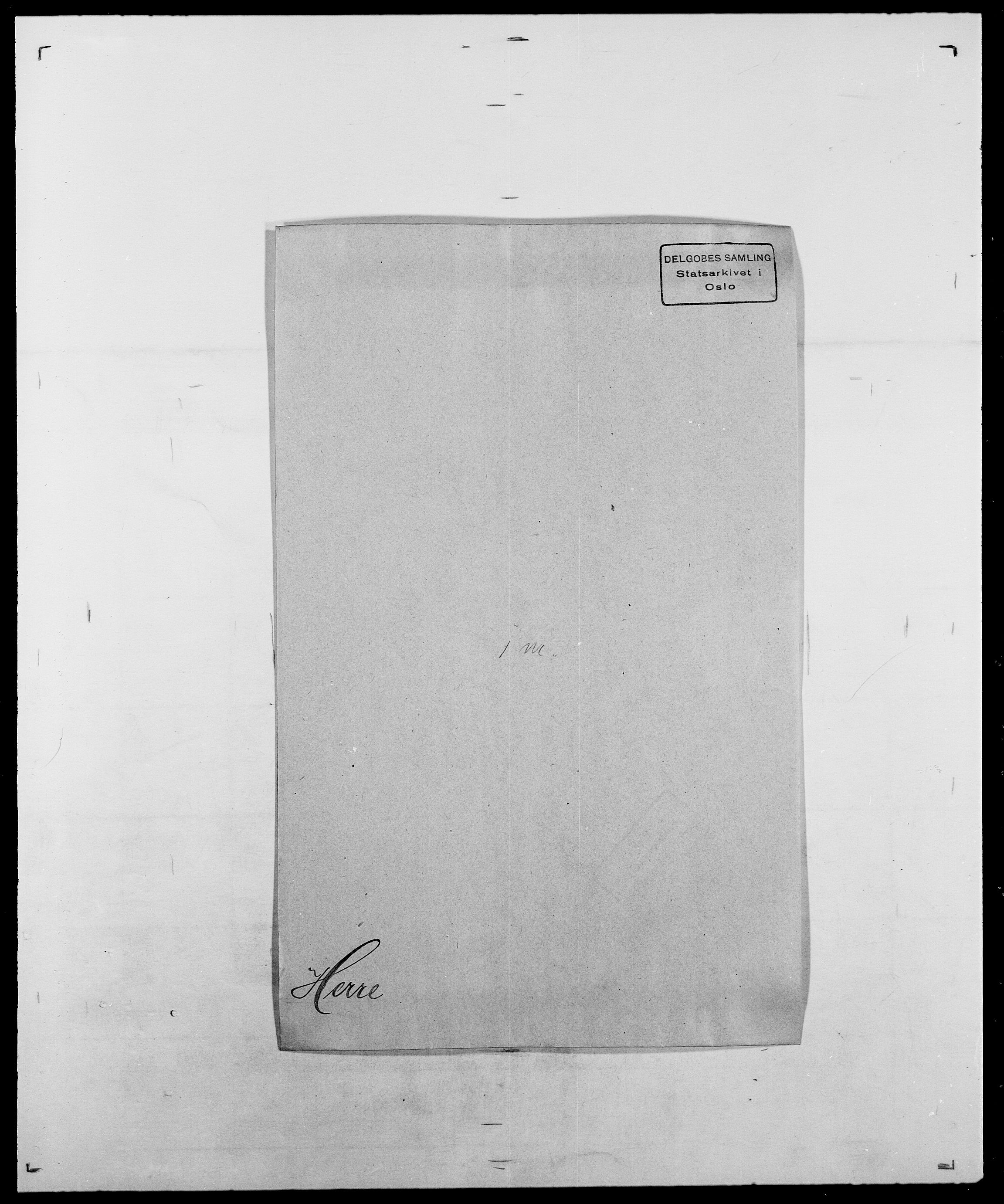 SAO, Delgobe, Charles Antoine - samling, D/Da/L0017: Helander - Hjørne, s. 255