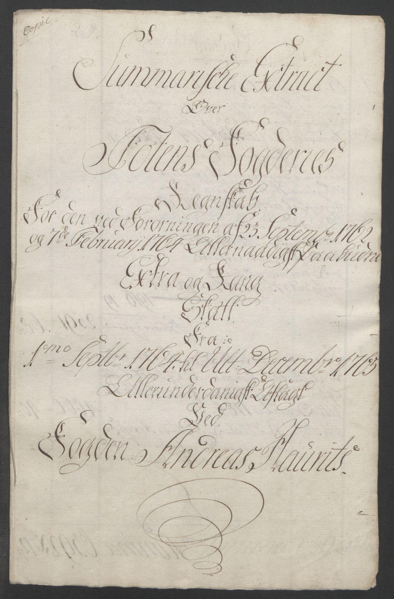 RA, Rentekammeret inntil 1814, Reviderte regnskaper, Fogderegnskap, R19/L1399: Fogderegnskap Toten, Hadeland og Vardal, 1762-1783, s. 88