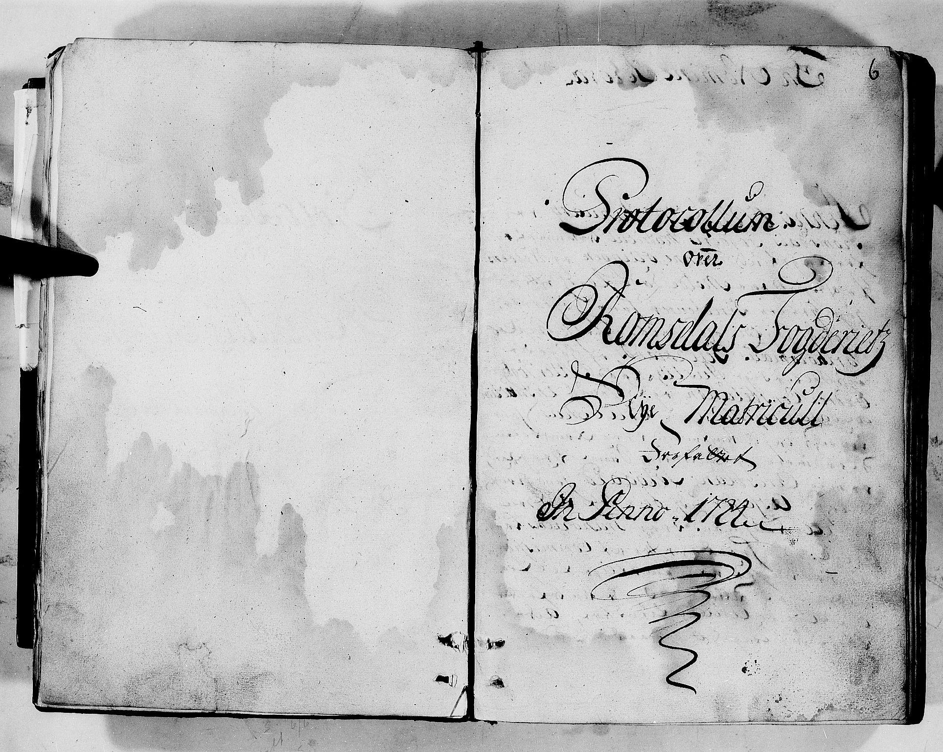 RA, Rentekammeret inntil 1814, Realistisk ordnet avdeling, N/Nb/Nbf/L0152: Romsdal eksaminasjonsprotokoll, 1724, s. 5b-6a