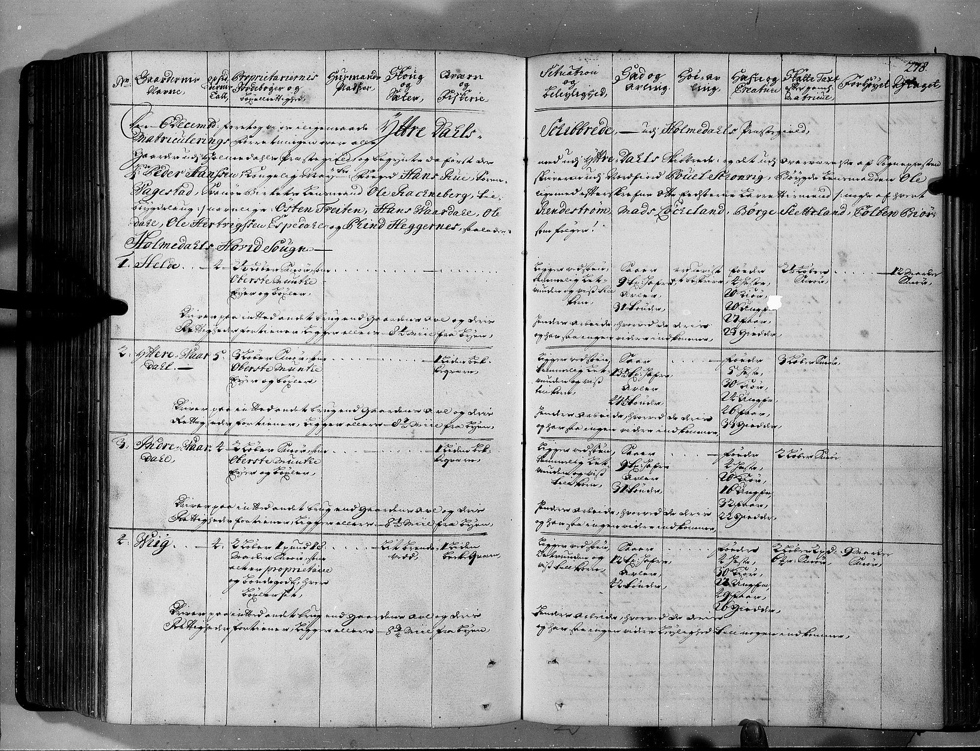 RA, Rentekammeret inntil 1814, Realistisk ordnet avdeling, N/Nb/Nbf/L0146: Sunnfjord og Nordfjord eksaminasjonsprotokoll, 1723, s. 277b-278a