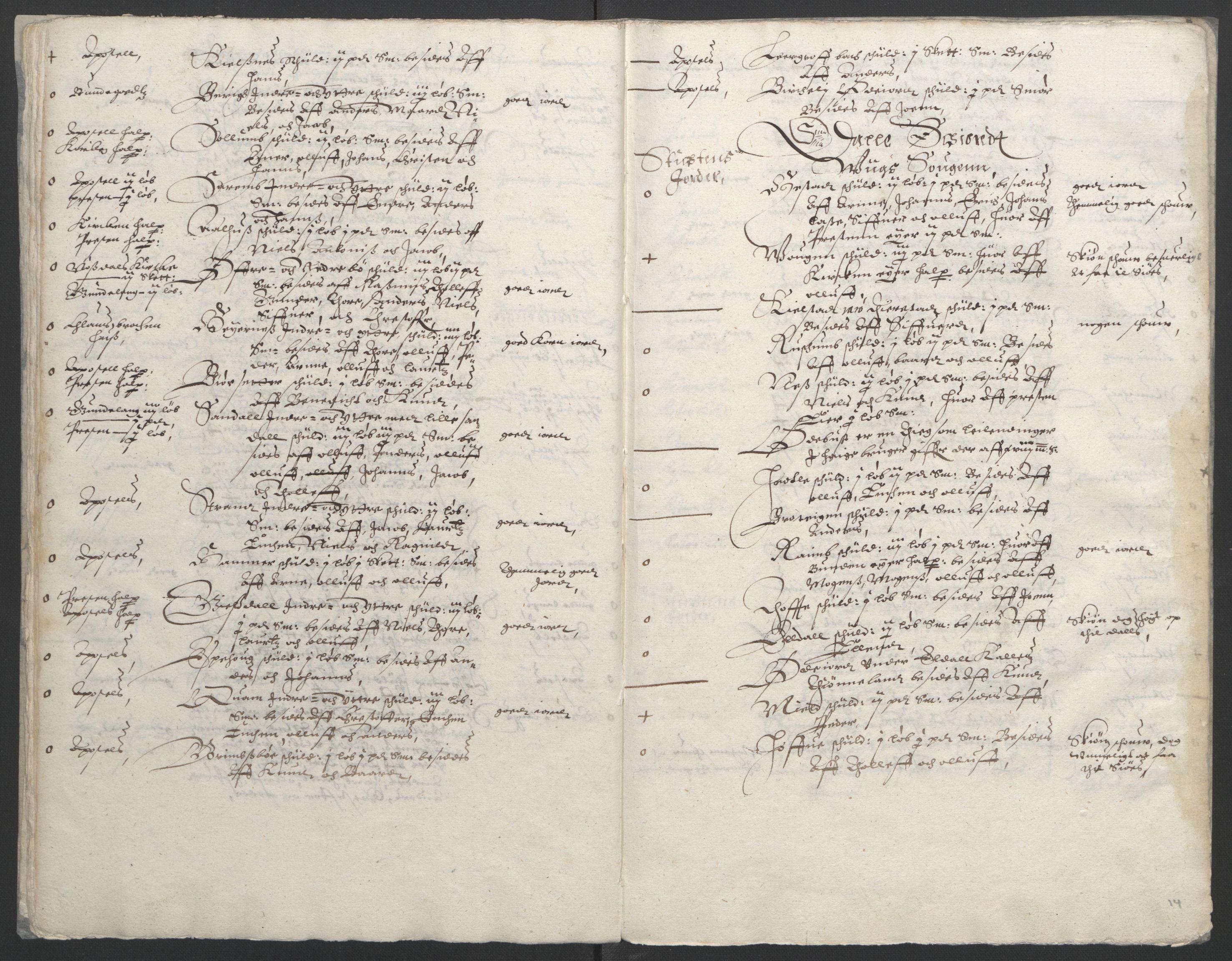 RA, Stattholderembetet 1572-1771, Ek/L0005: Jordebøker til utlikning av garnisonsskatt 1624-1626:, 1626, s. 16