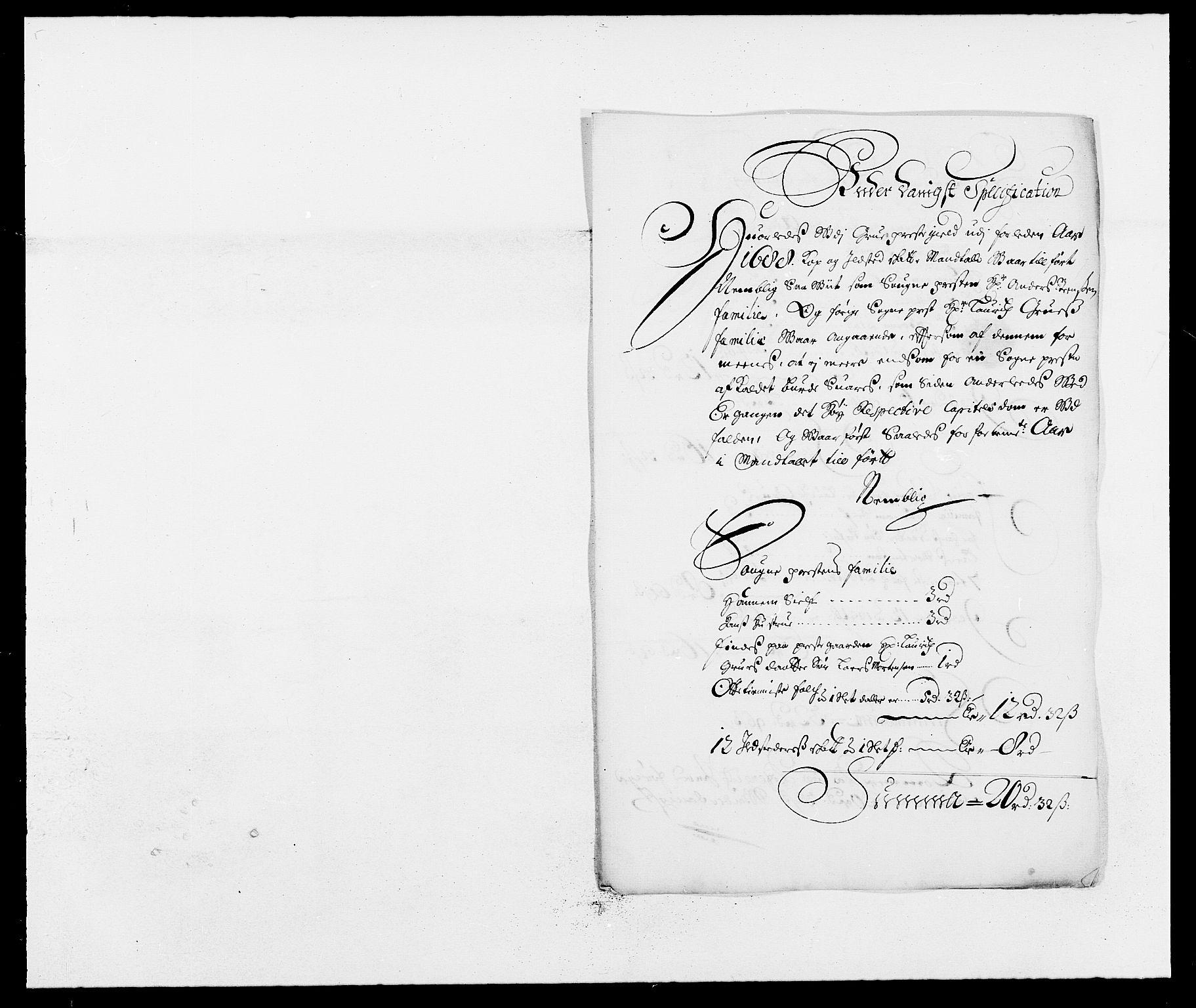 RA, Rentekammeret inntil 1814, Reviderte regnskaper, Fogderegnskap, R13/L0827: Fogderegnskap Solør, Odal og Østerdal, 1689, s. 348