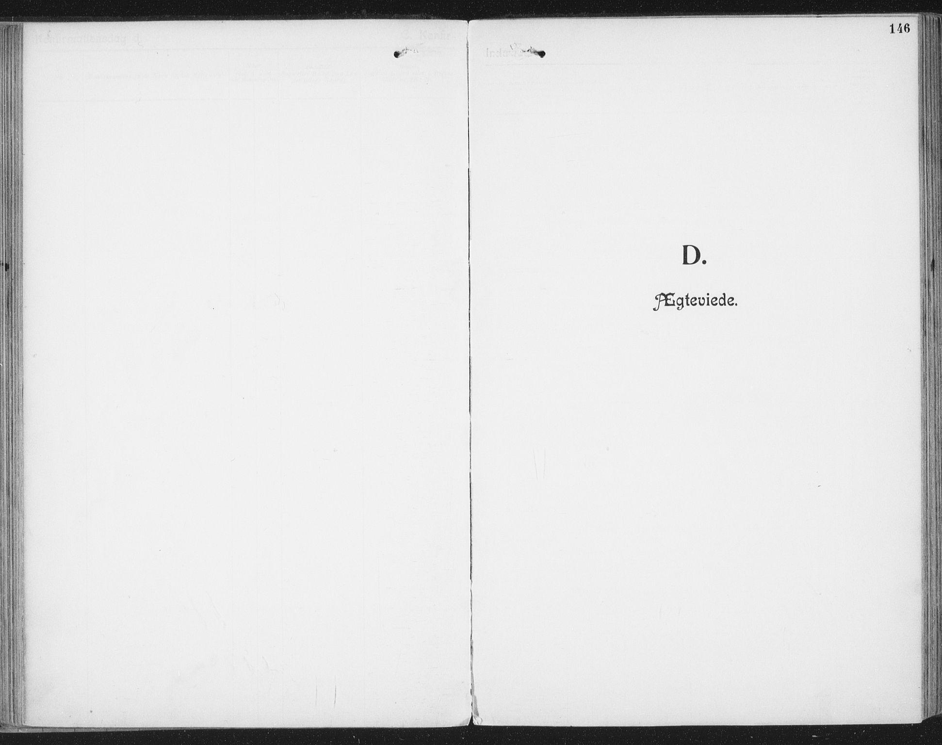 SAT, Ministerialprotokoller, klokkerbøker og fødselsregistre - Nordland, 804/L0081: Ministerialbok nr. 804A02, 1901-1915, s. 146
