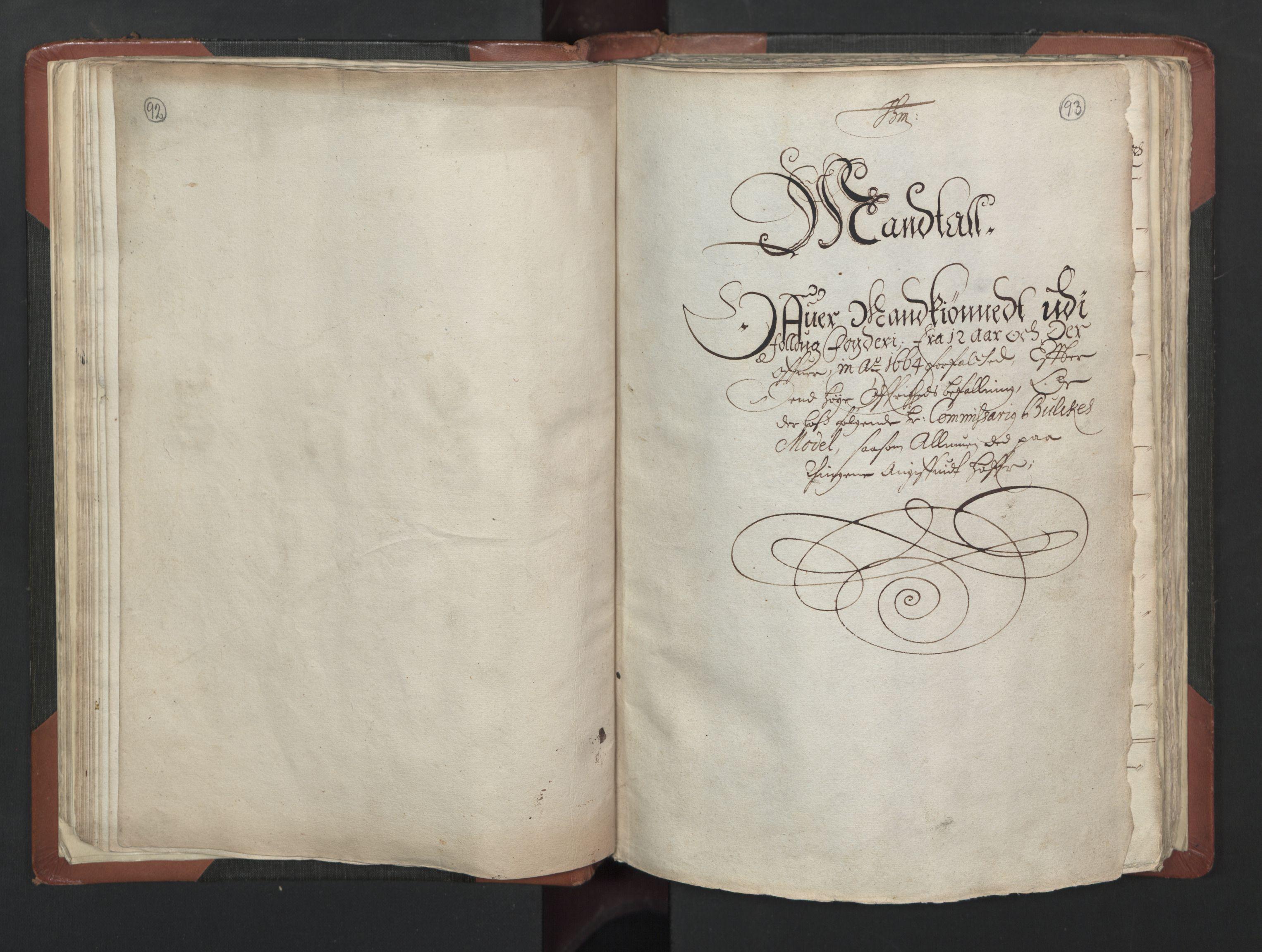 RA, Fogdenes og sorenskrivernes manntall 1664-1666, nr. 2: Aker fogderi, Follo fogderi, Nedre Romerike fogderi og Øvre Romerike fogderi, 1664, s. 92-93