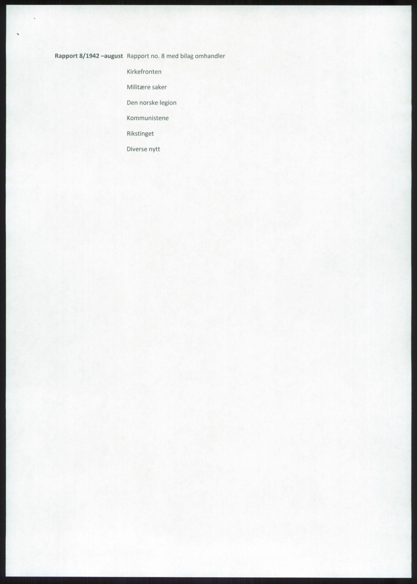 RA, Forsvaret, Forsvarets overkommando, Da/L0079: Etterretningsrapporter, 1942, s. 53