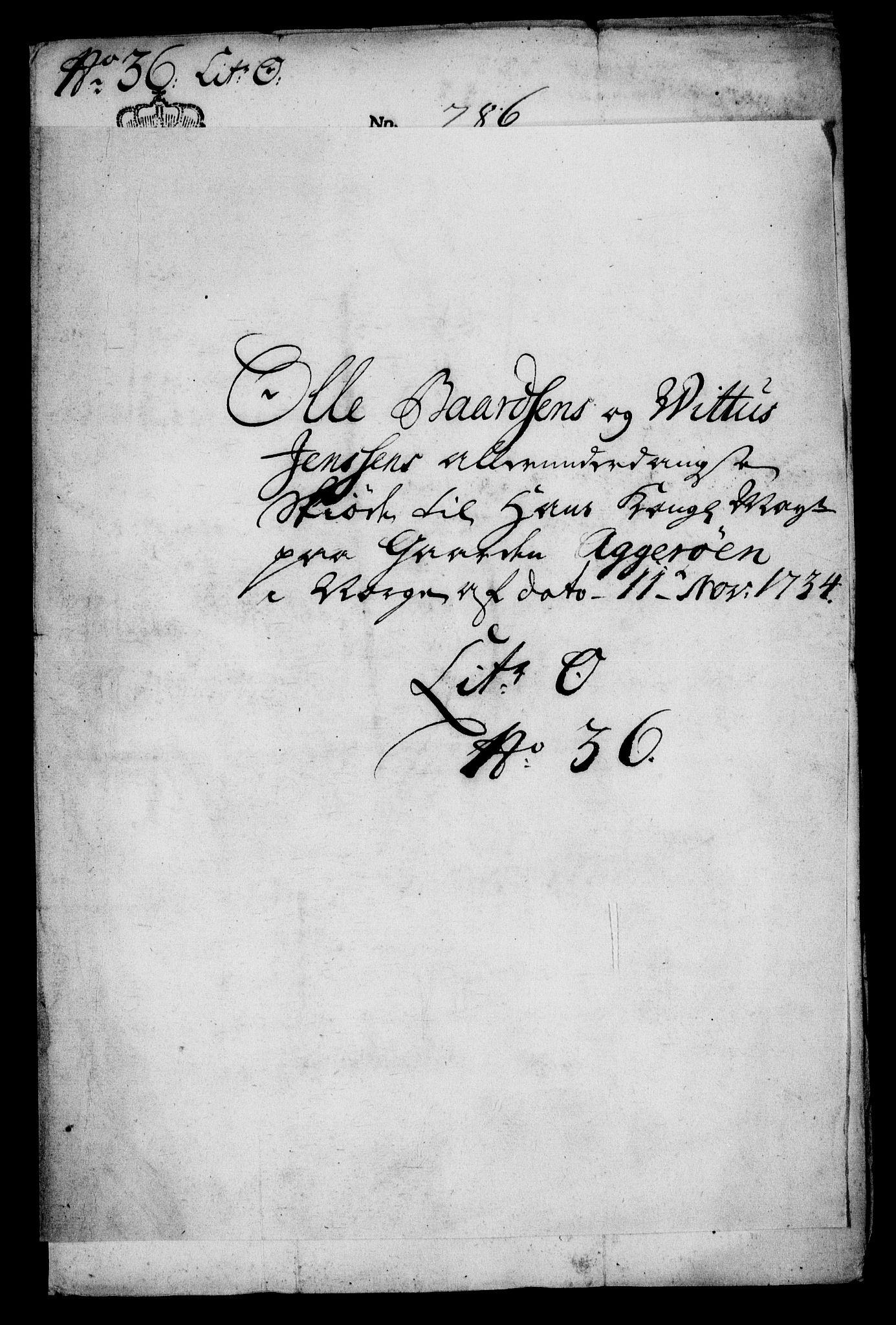 RA, Rentekammeret inntil 1814, Realistisk ordnet avdeling, On/L0009: [Jj 9]: Forskjellige skjøter og makeskifter med kirker og prestebord. Ervervelsen av Vallø saltverks eiendommer, s. 61