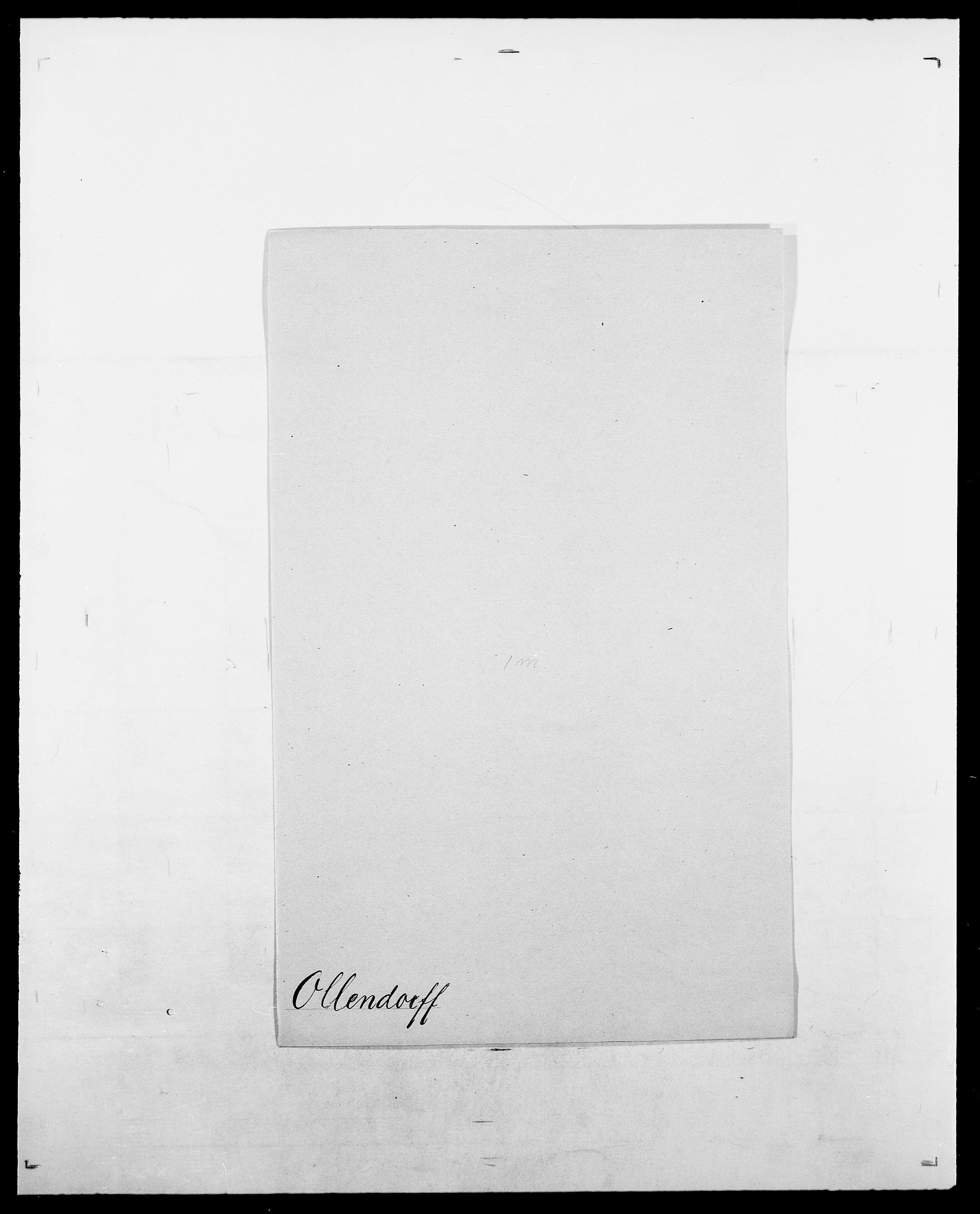 SAO, Delgobe, Charles Antoine - samling, D/Da/L0029: Obel - Oxholm, s. 116