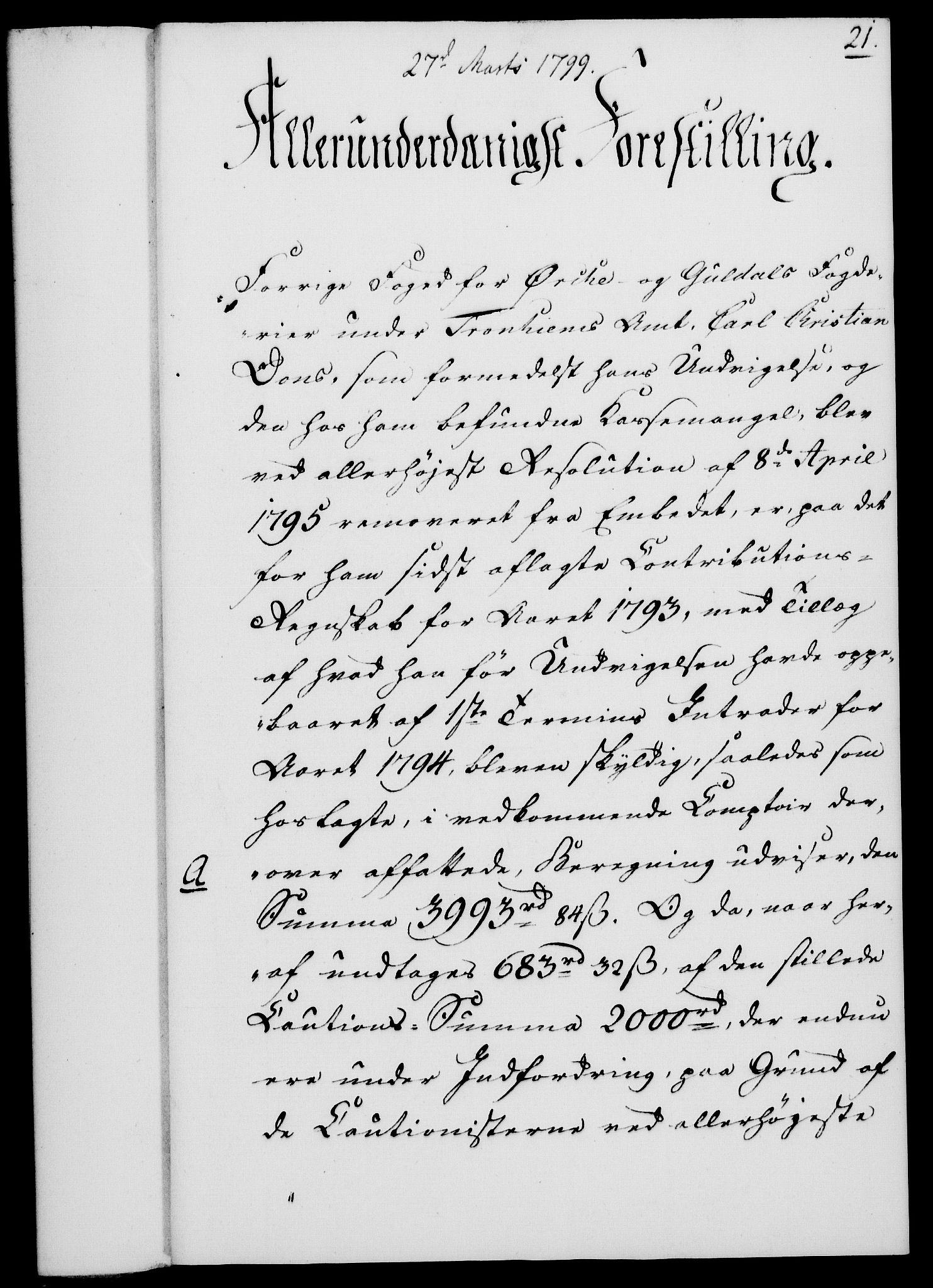 RA, Rentekammeret, Kammerkanselliet, G/Gf/Gfa/L0081: Norsk relasjons- og resolusjonsprotokoll (merket RK 52.81), 1799, s. 149