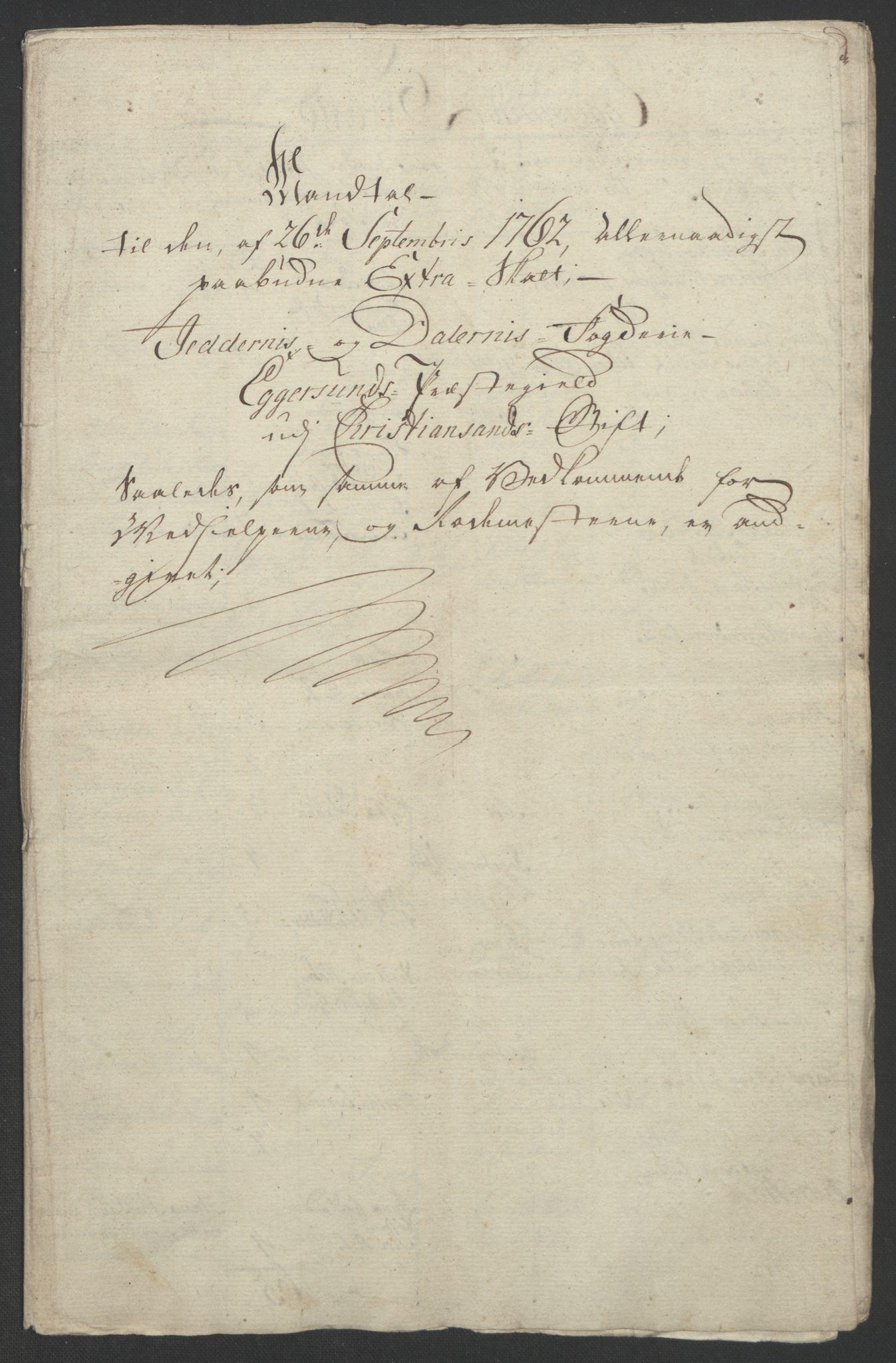 RA, Rentekammeret inntil 1814, Realistisk ordnet avdeling, Ol/L0015: [Gg 10]: Ekstraskatten, 23.09.1762. Stavanger by, Jæren og Dalane, Bergen, 1762-1764, s. 130