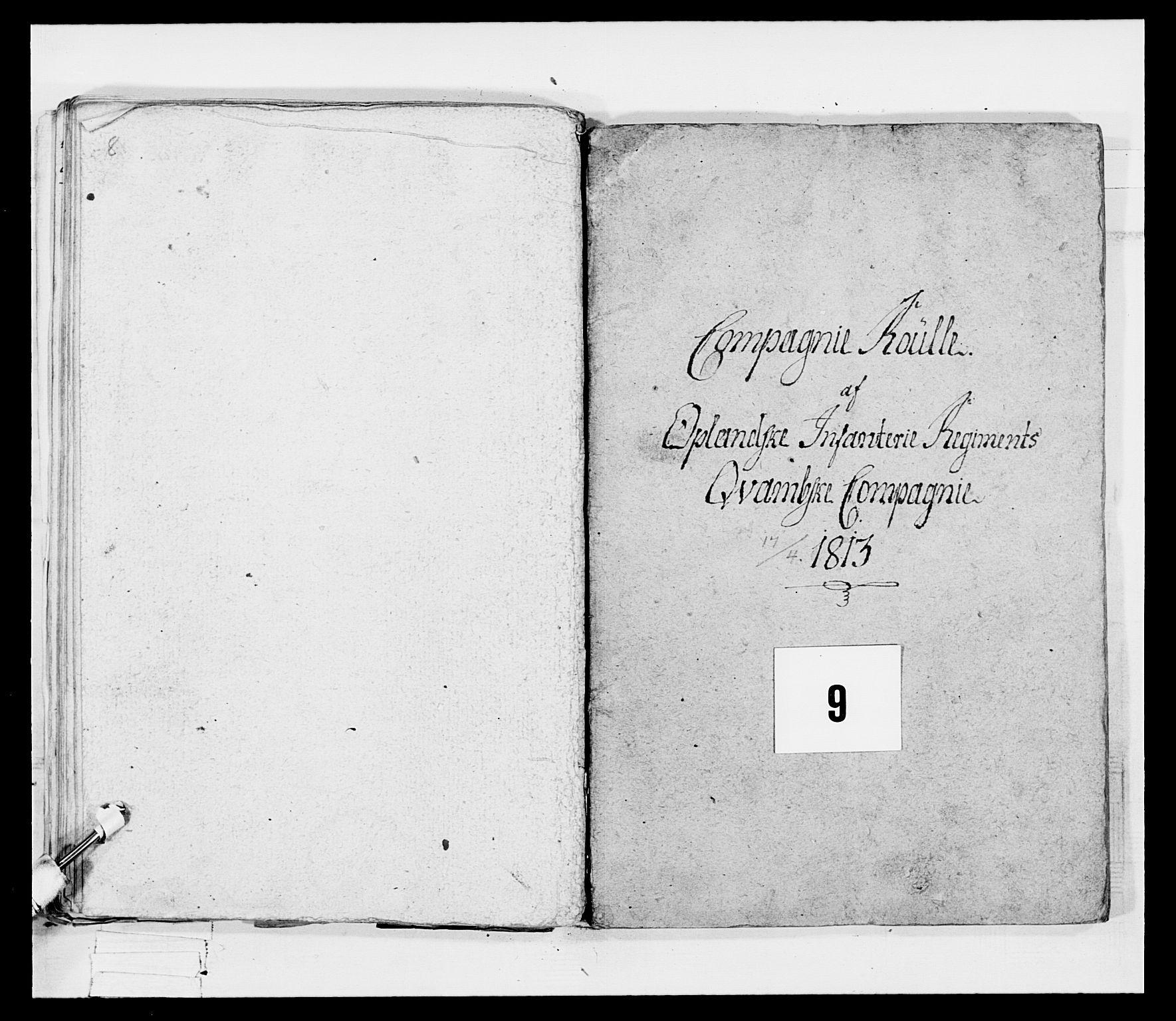 RA, Generalitets- og kommissariatskollegiet, Det kongelige norske kommissariatskollegium, E/Eh/L0069: Opplandske gevorbne infanteriregiment, 1810-1818, s. 419