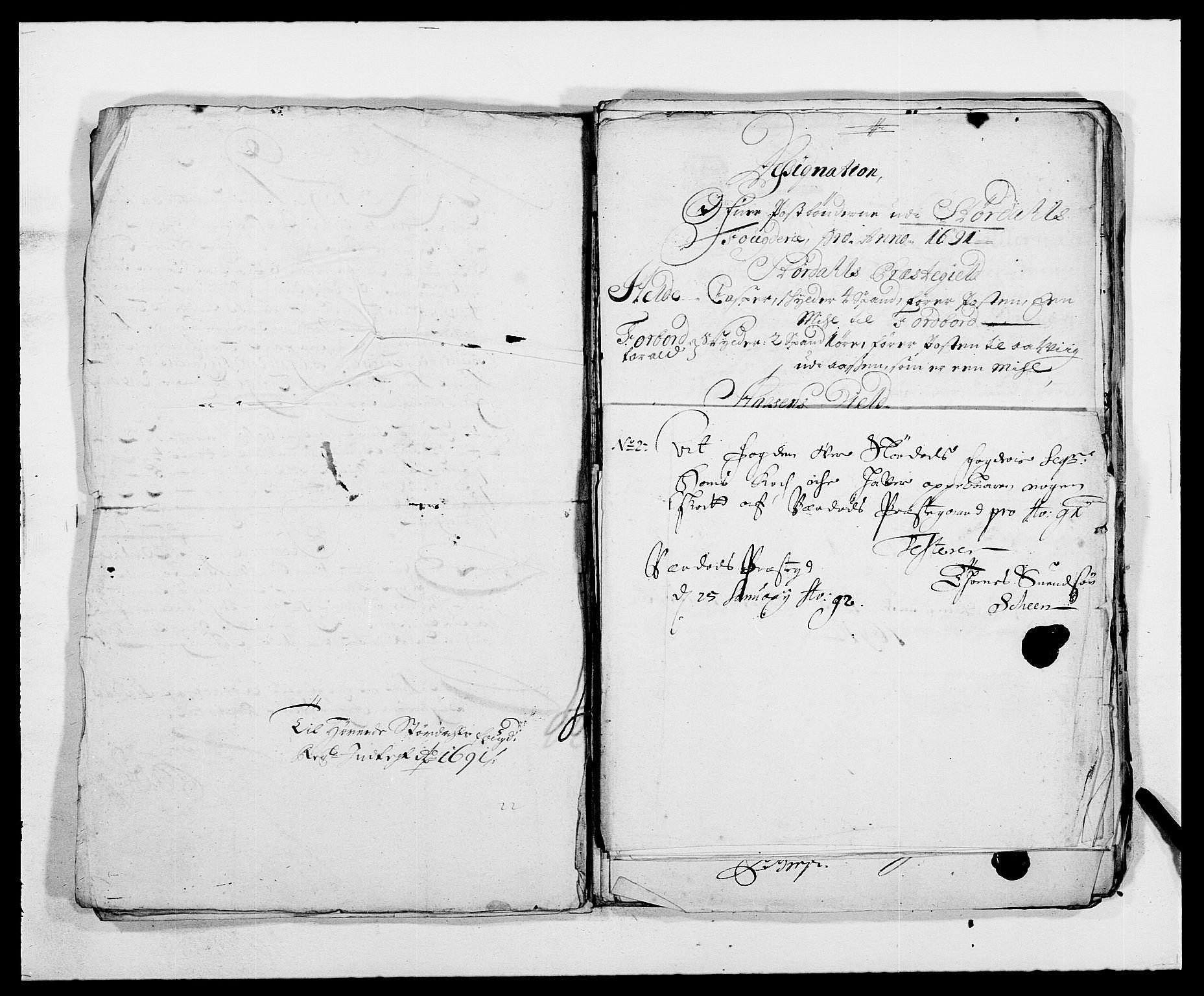 RA, Rentekammeret inntil 1814, Reviderte regnskaper, Fogderegnskap, R62/L4184: Fogderegnskap Stjørdal og Verdal, 1690-1691, s. 426