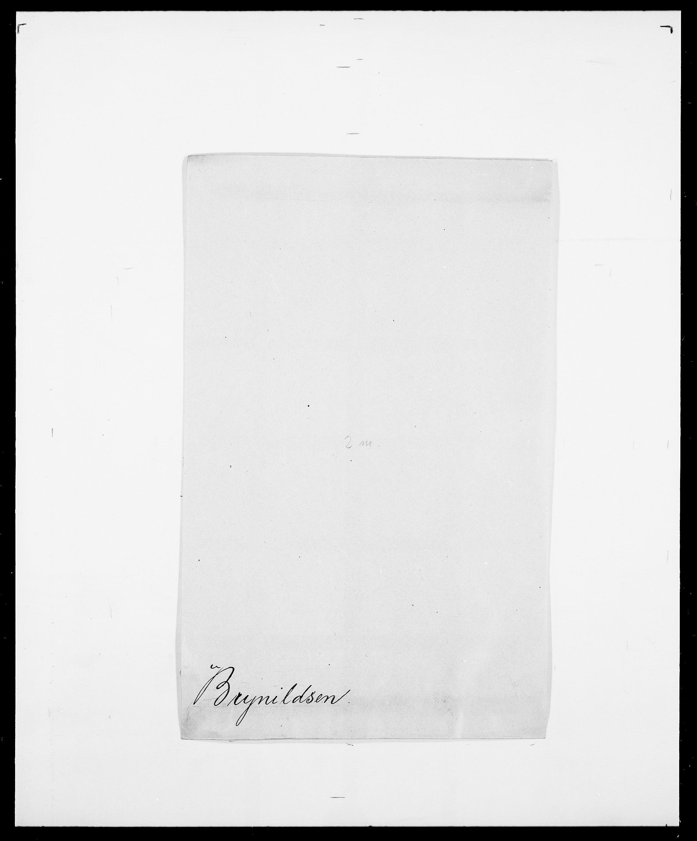 SAO, Delgobe, Charles Antoine - samling, D/Da/L0006: Brambani - Brønø, s. 918