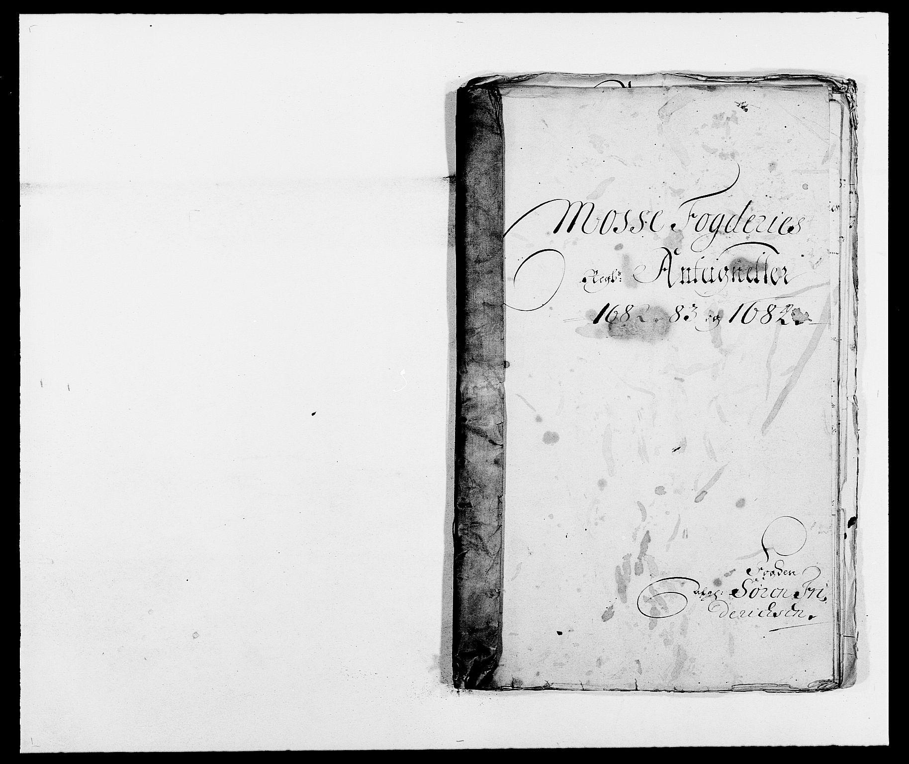 RA, Rentekammeret inntil 1814, Reviderte regnskaper, Fogderegnskap, R02/L0104: Fogderegnskap Moss og Verne kloster, 1682-1684, s. 224
