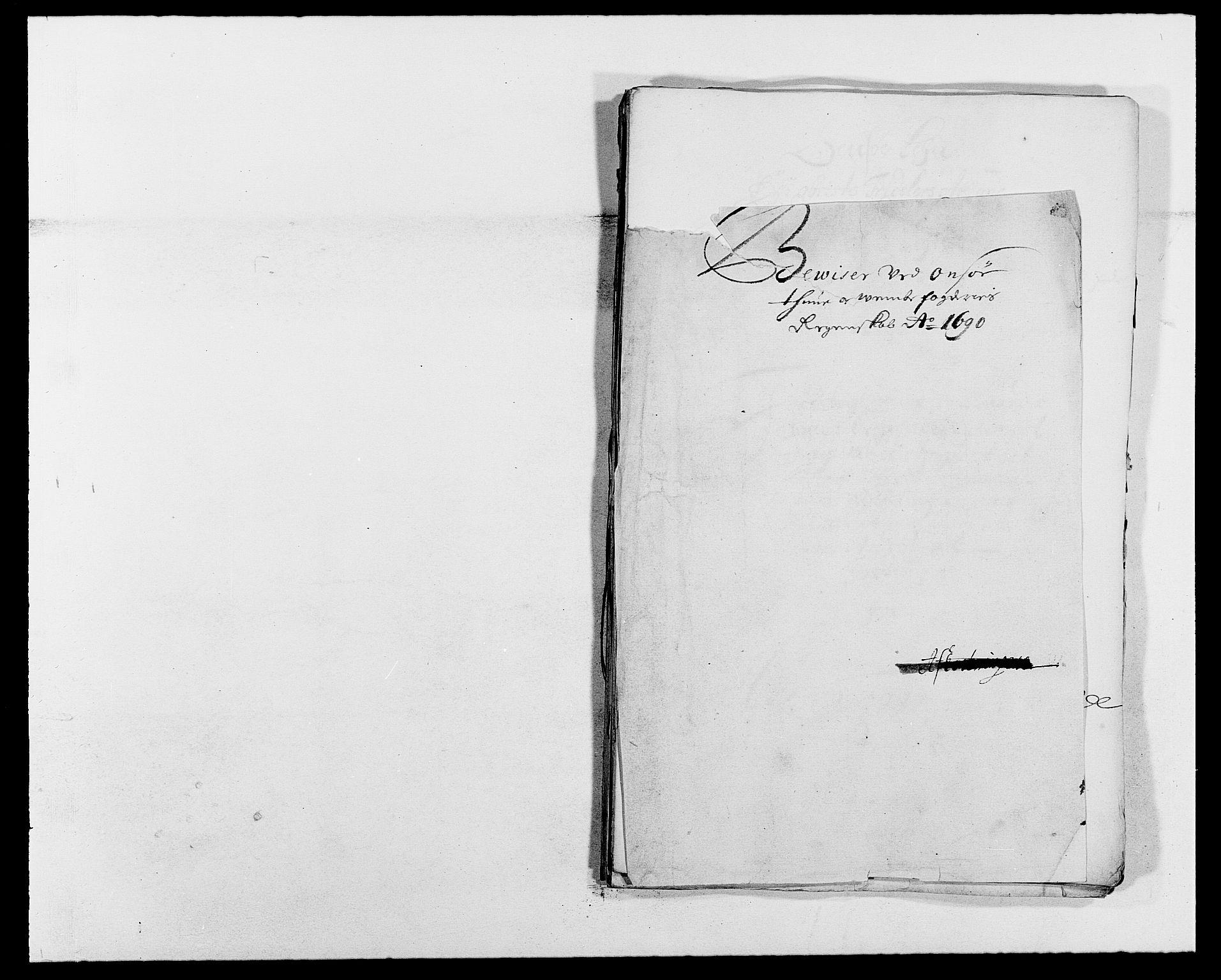 RA, Rentekammeret inntil 1814, Reviderte regnskaper, Fogderegnskap, R03/L0119: Fogderegnskap Onsøy, Tune, Veme og Åbygge fogderi, 1690-1691, s. 164