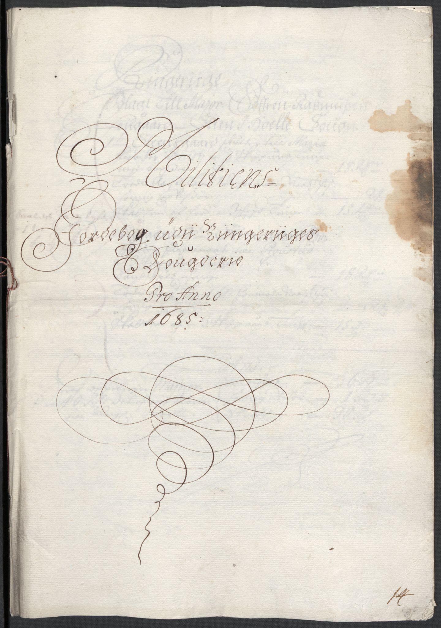 RA, Rentekammeret inntil 1814, Reviderte regnskaper, Fogderegnskap, R21/L1446: Fogderegnskap Ringerike og Hallingdal, 1683-1686, s. 398
