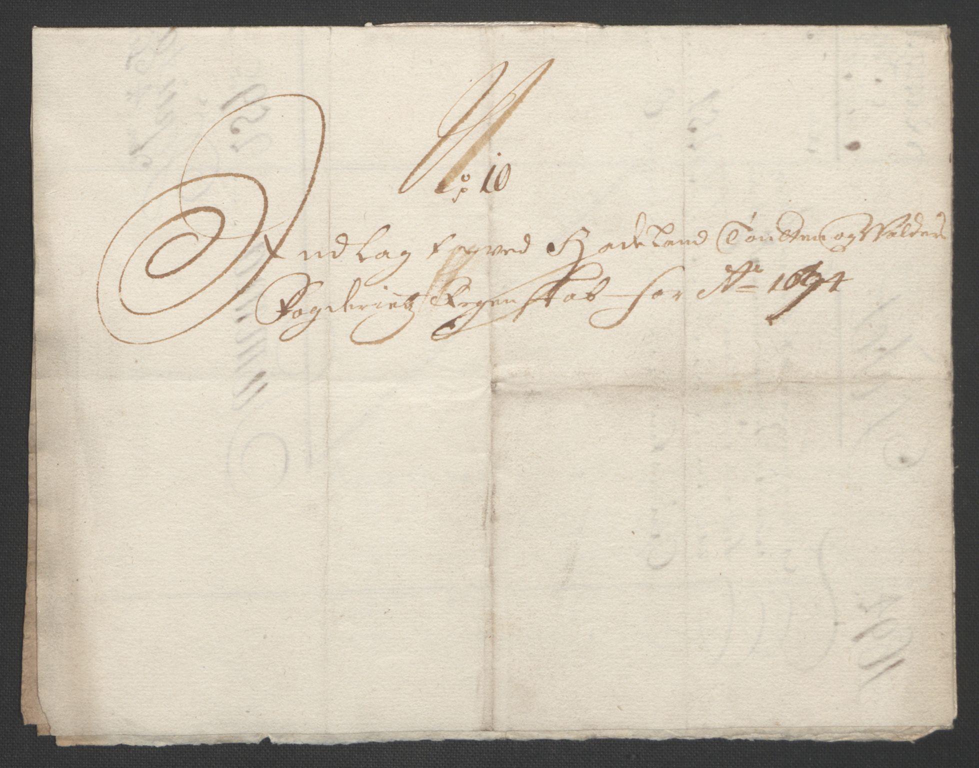 RA, Rentekammeret inntil 1814, Reviderte regnskaper, Fogderegnskap, R18/L1292: Fogderegnskap Hadeland, Toten og Valdres, 1693-1694, s. 414