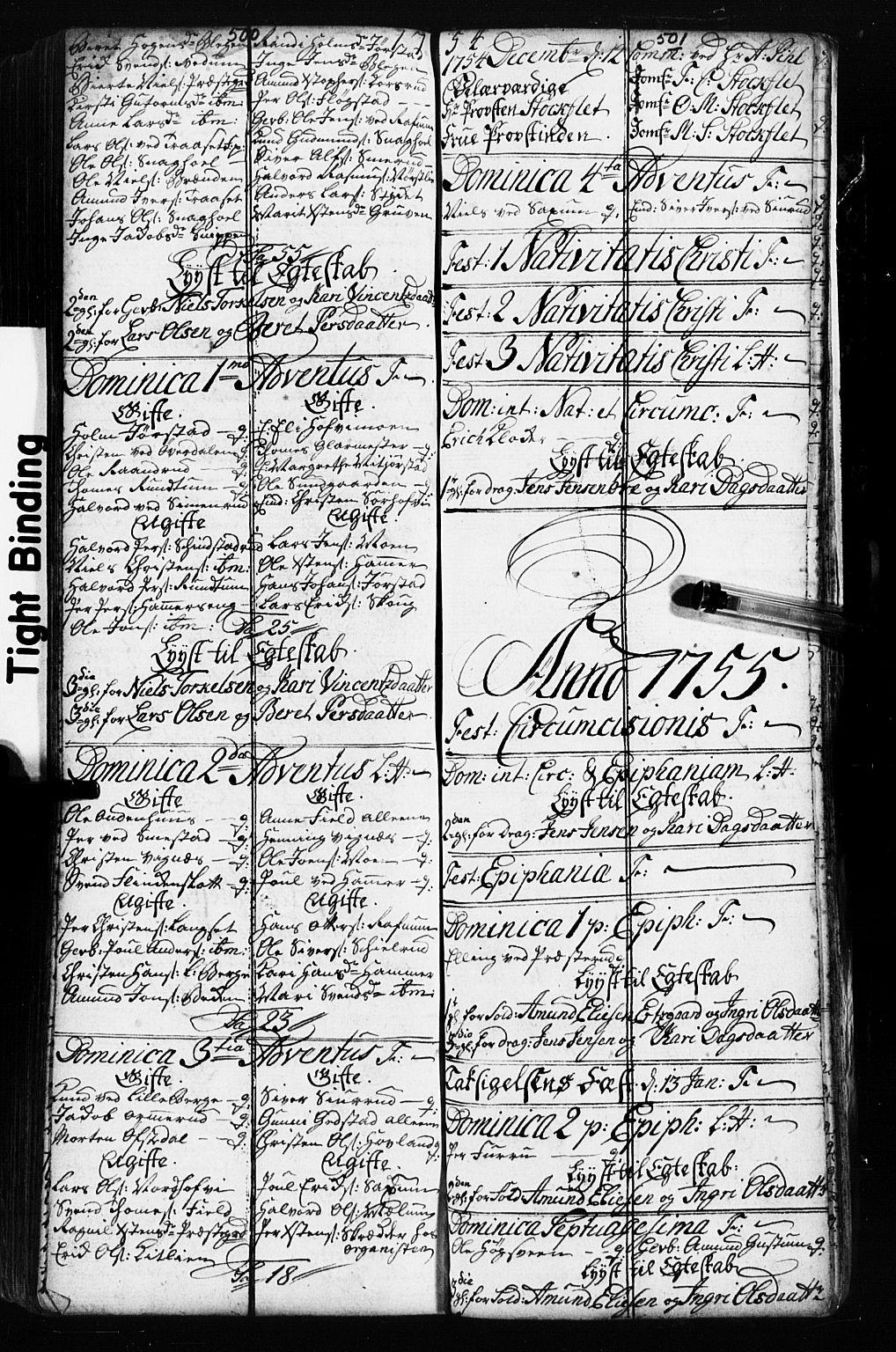 SAH, Fåberg prestekontor, Klokkerbok nr. 2, 1741-1756, s. 500-501
