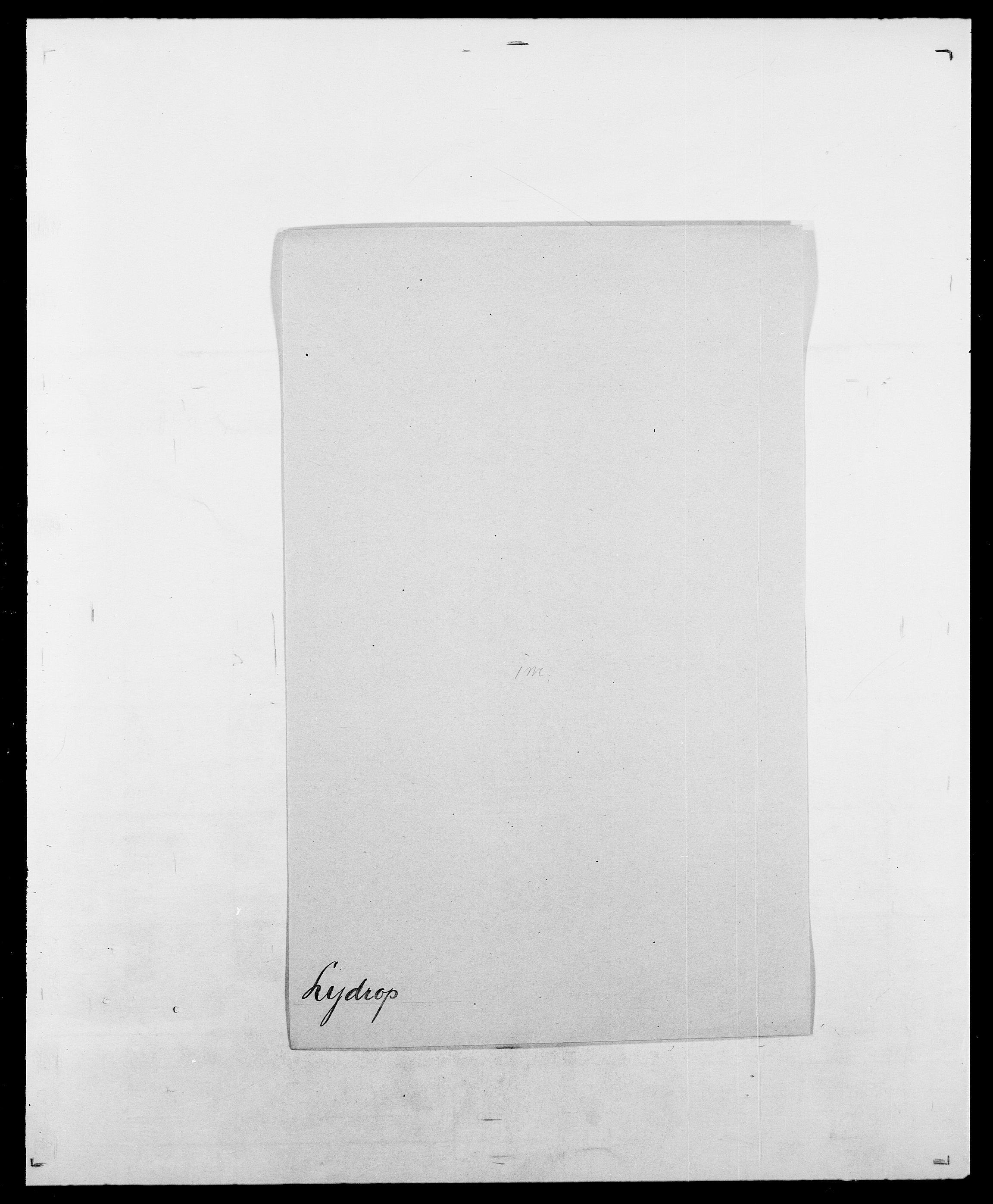 SAO, Delgobe, Charles Antoine - samling, D/Da/L0024: Lobech - Lærum, s. 706