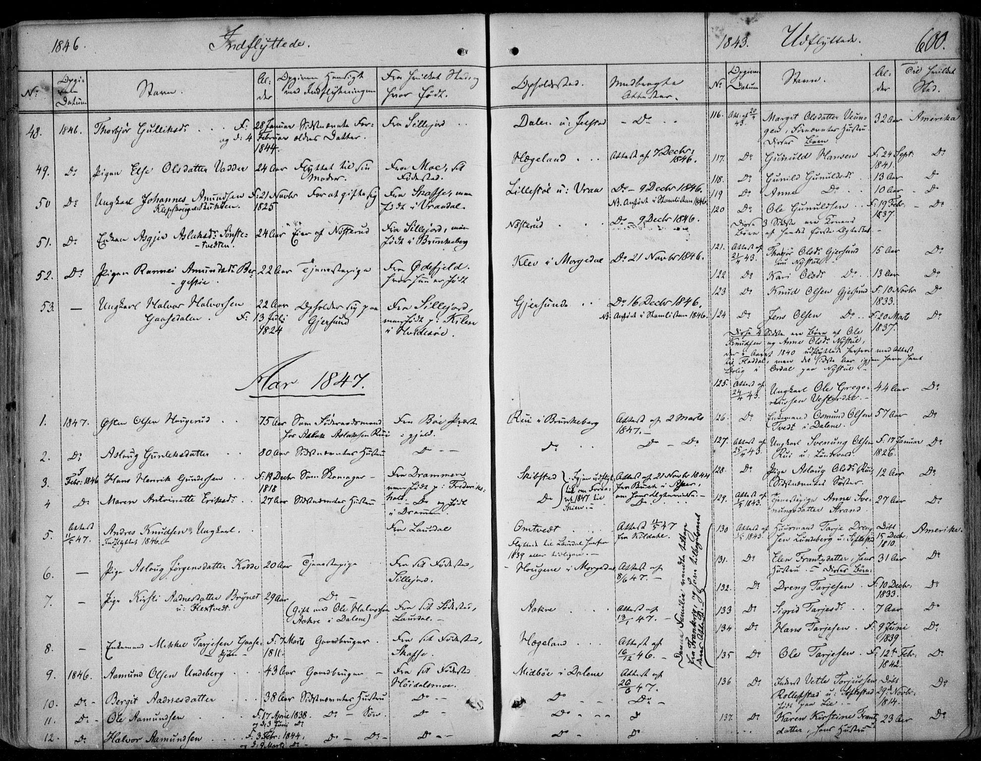 SAKO, Kviteseid kirkebøker, F/Fa/L0006: Ministerialbok nr. I 6, 1836-1858, s. 600
