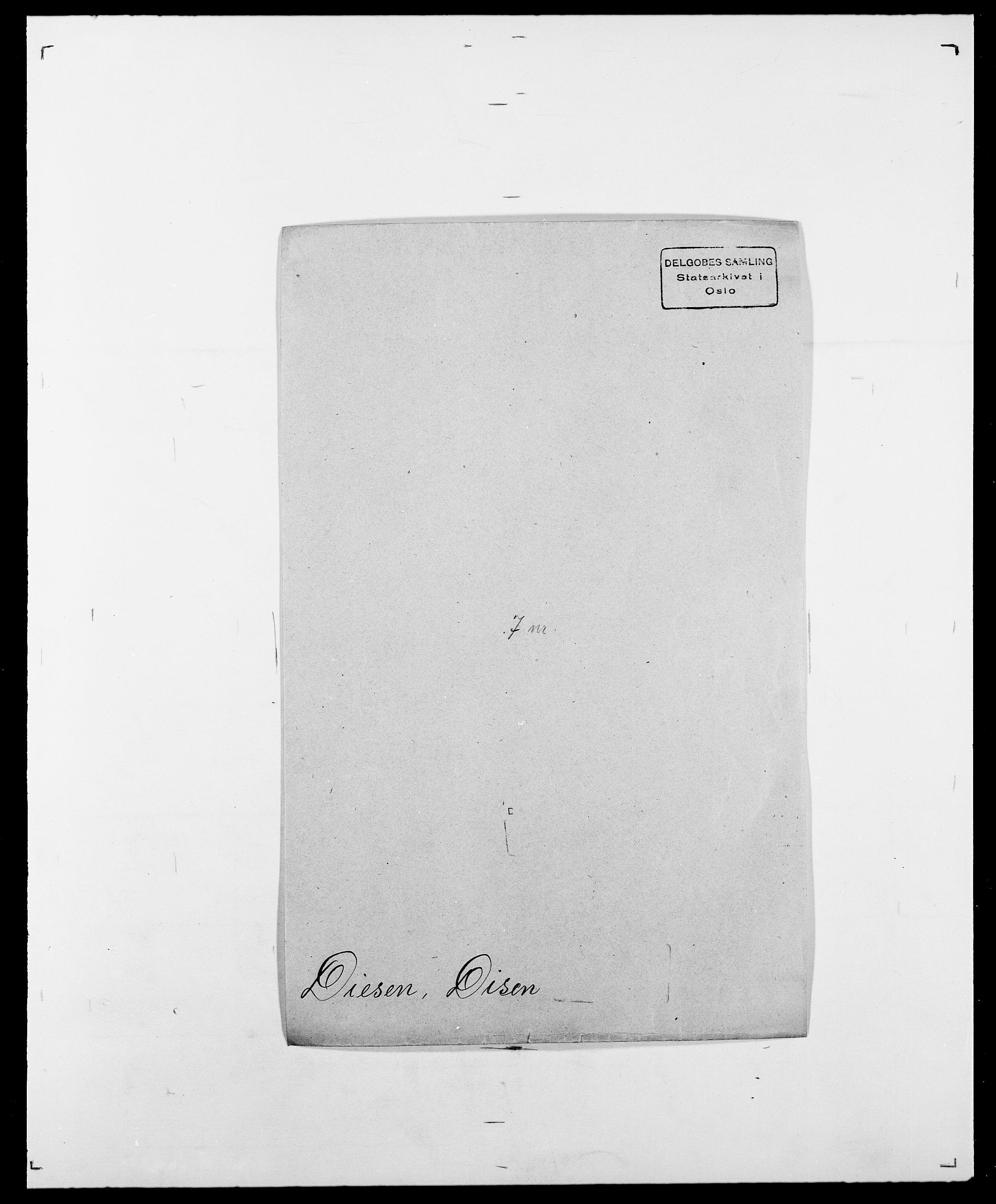 SAO, Delgobe, Charles Antoine - samling, D/Da/L0009: Dahl - v. Düren, s. 552