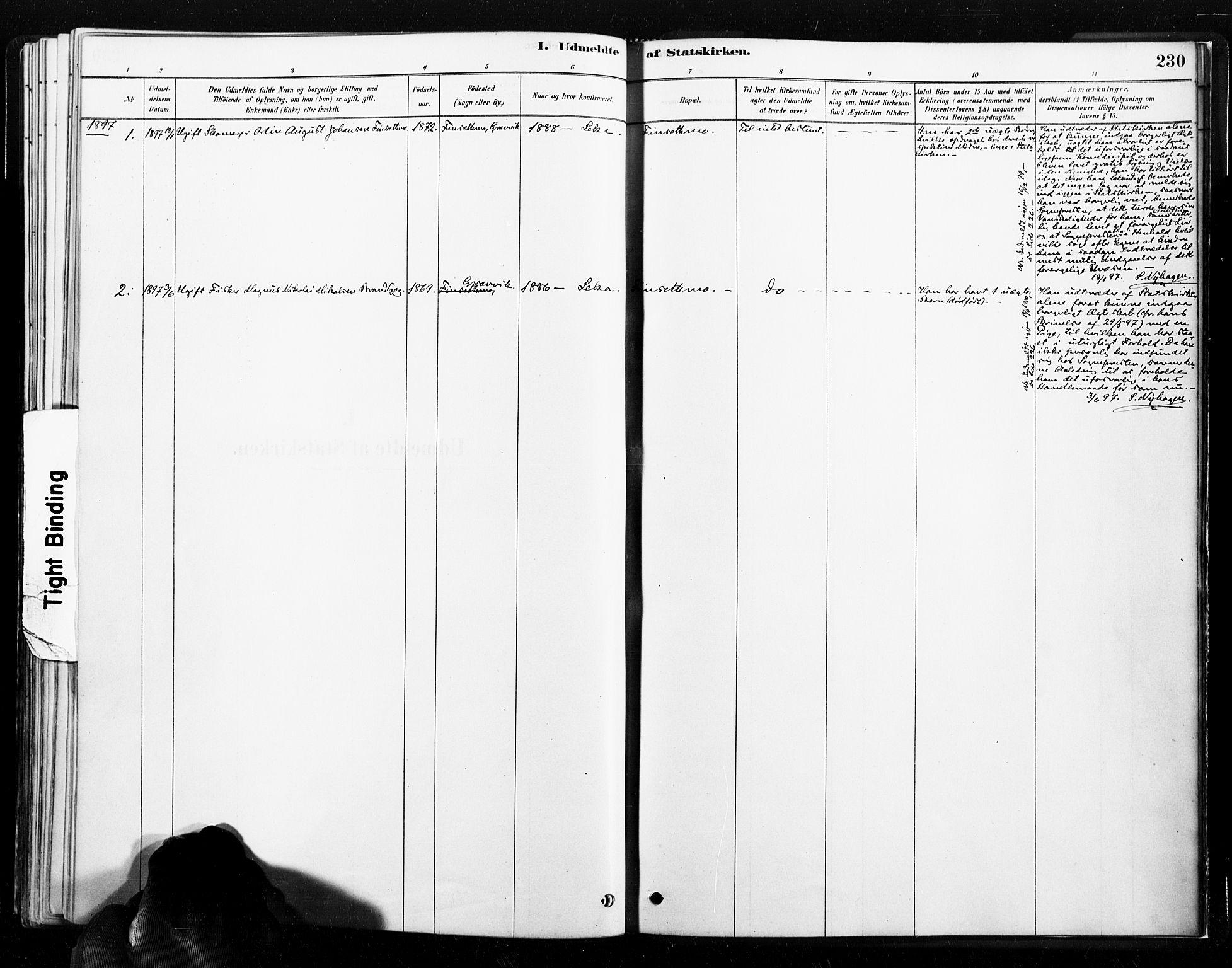 SAT, Ministerialprotokoller, klokkerbøker og fødselsregistre - Nord-Trøndelag, 789/L0705: Ministerialbok nr. 789A01, 1878-1910, s. 230