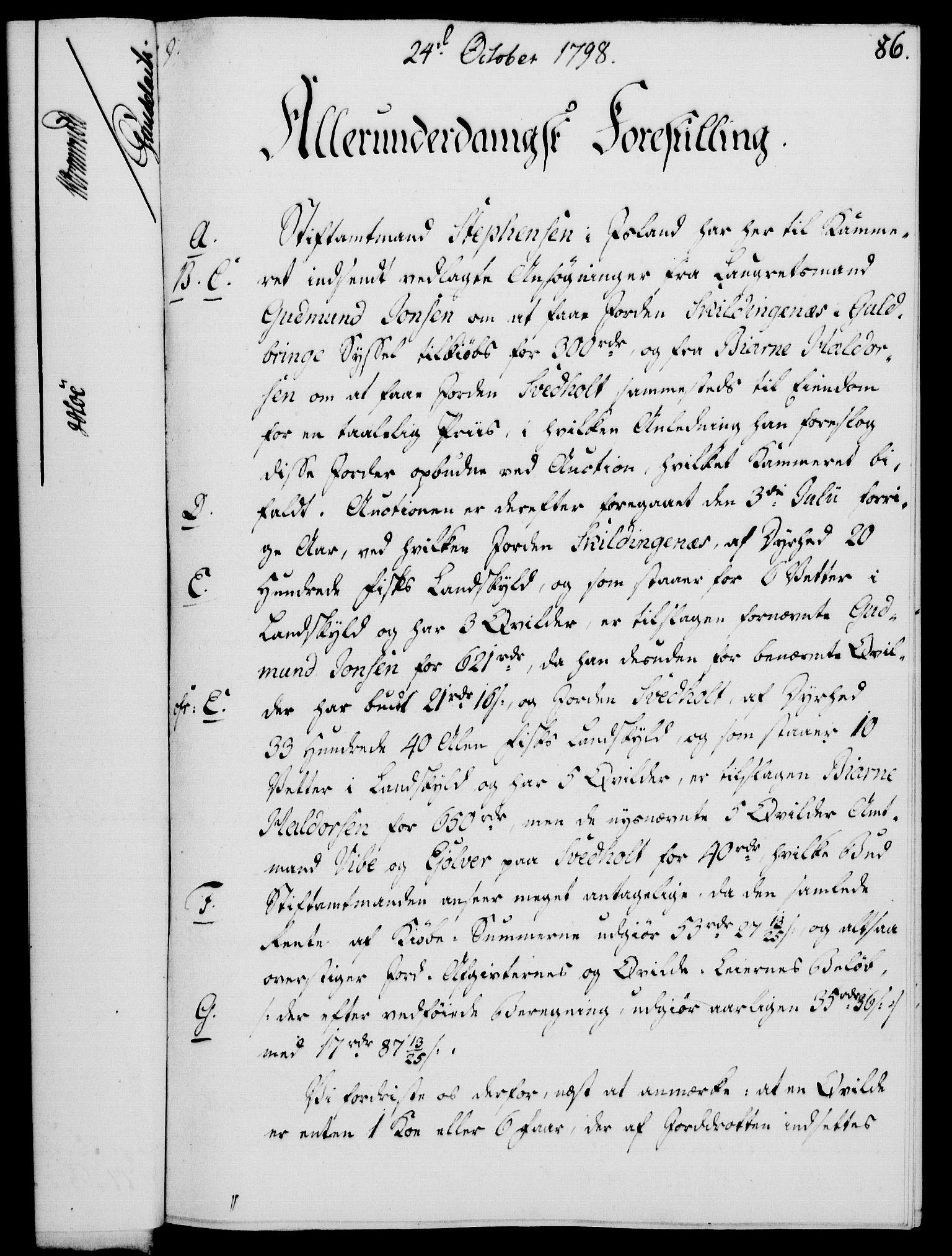 RA, Rentekammeret, Kammerkanselliet, G/Gf/Gfa/L0080: Norsk relasjons- og resolusjonsprotokoll (merket RK 52.80), 1798, s. 565