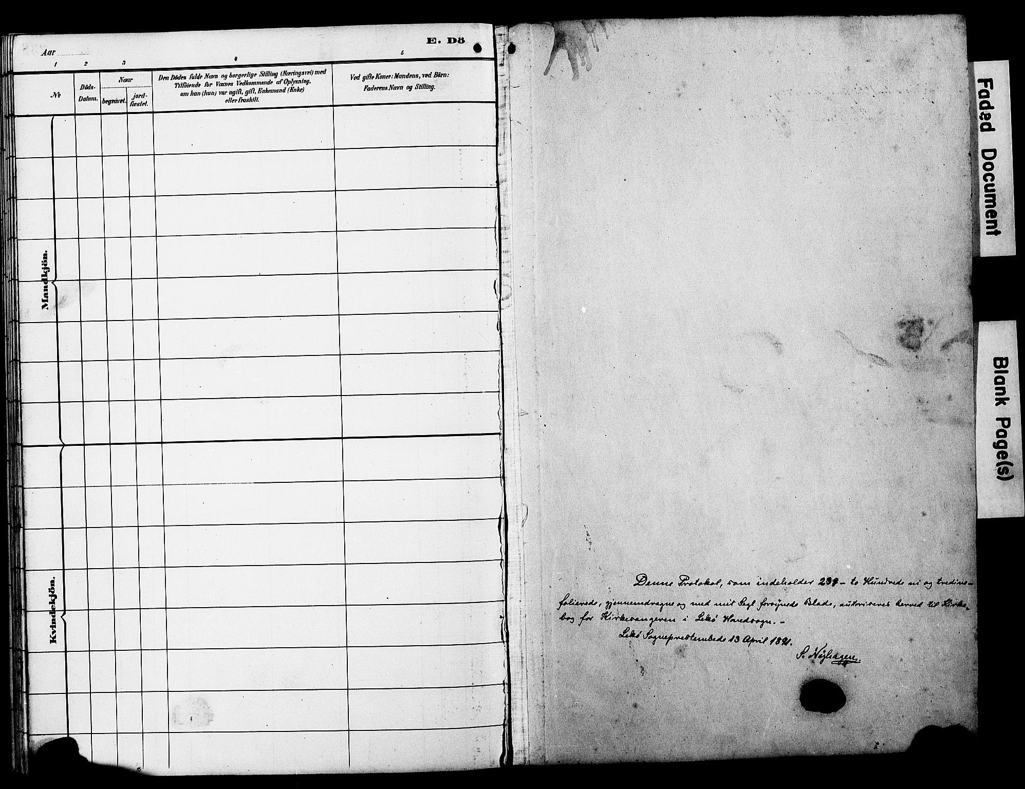 SAT, Ministerialprotokoller, klokkerbøker og fødselsregistre - Nord-Trøndelag, 788/L0701: Klokkerbok nr. 788C01, 1888-1913
