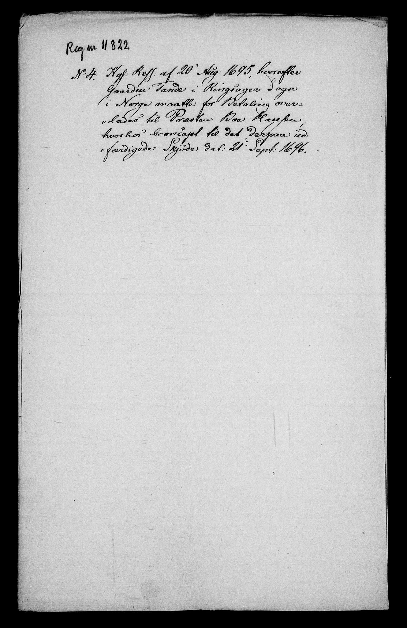 RA, Rentekammeret inntil 1814, Realistisk ordnet avdeling, On/L0013: [Jj 14]: Forskjellige dokumenter om krongodset i Norge, 1672-1722, s. 231