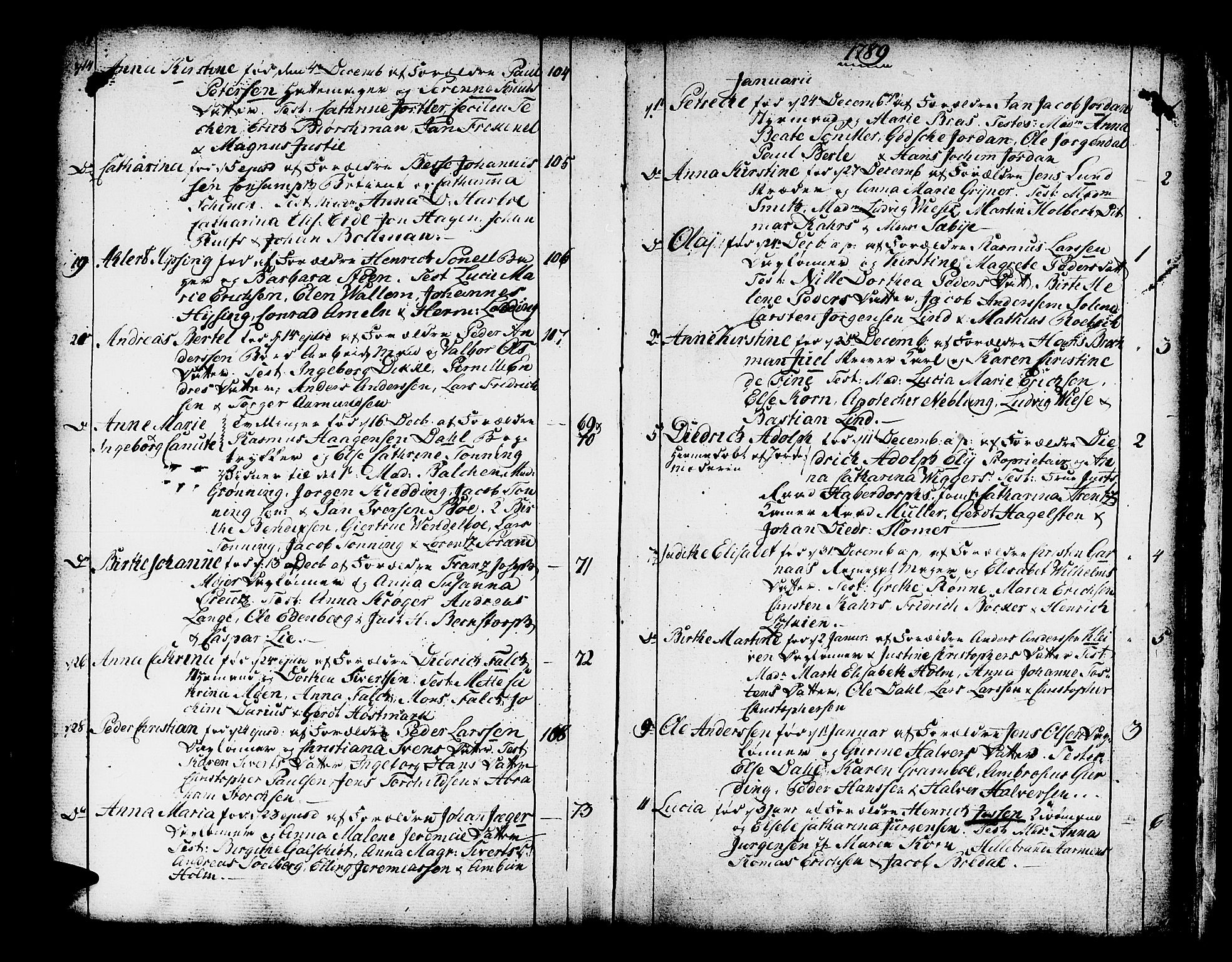 SAB, Domkirken Sokneprestembete, H/Haa/L0003: Ministerialbok nr. A 3, 1758-1789, s. 308-309