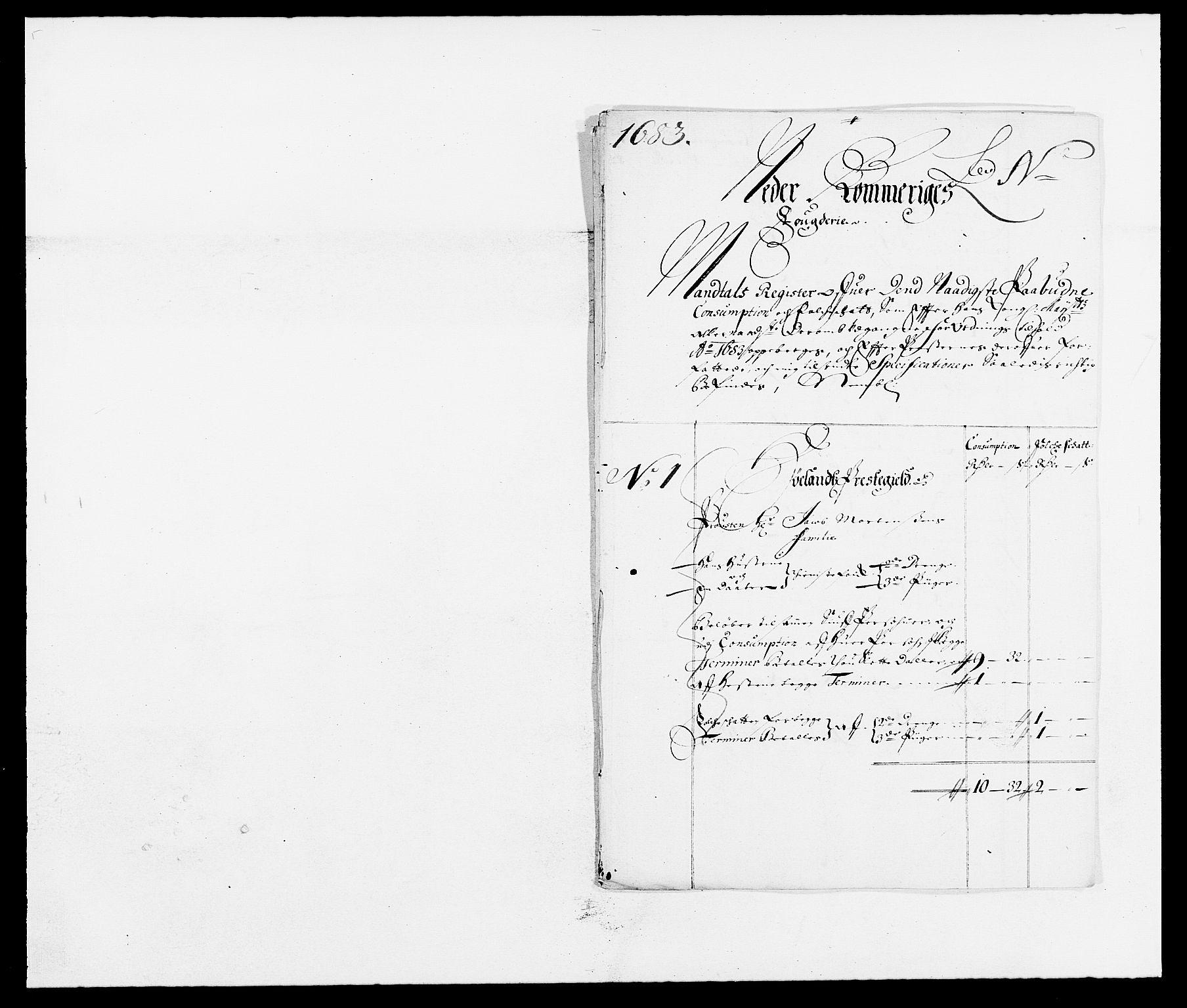 RA, Rentekammeret inntil 1814, Reviderte regnskaper, Fogderegnskap, R11/L0571: Fogderegnskap Nedre Romerike, 1683-1685, s. 101