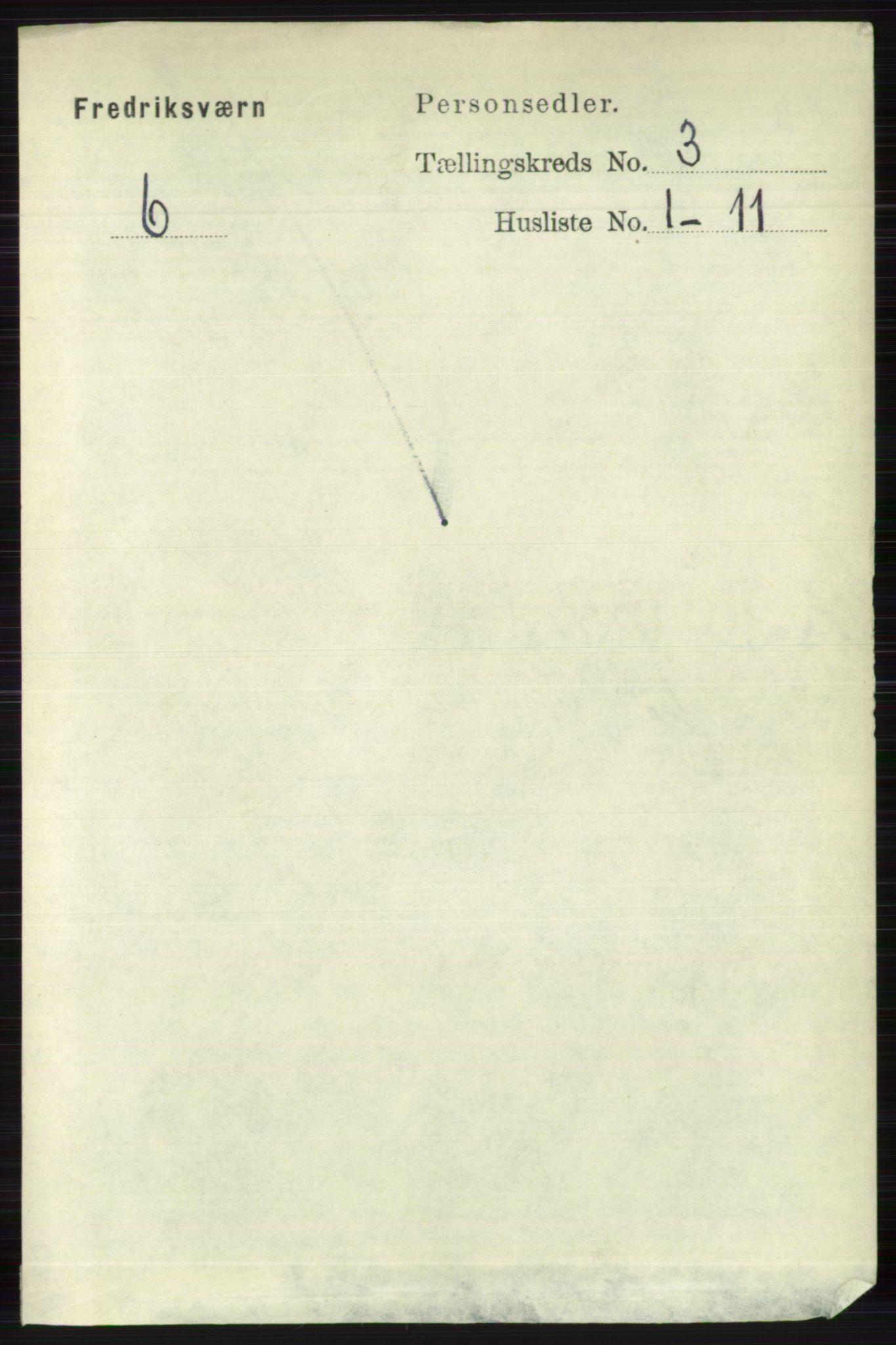 RA, Folketelling 1891 for 0798 Fredriksvern herred, 1891, s. 455