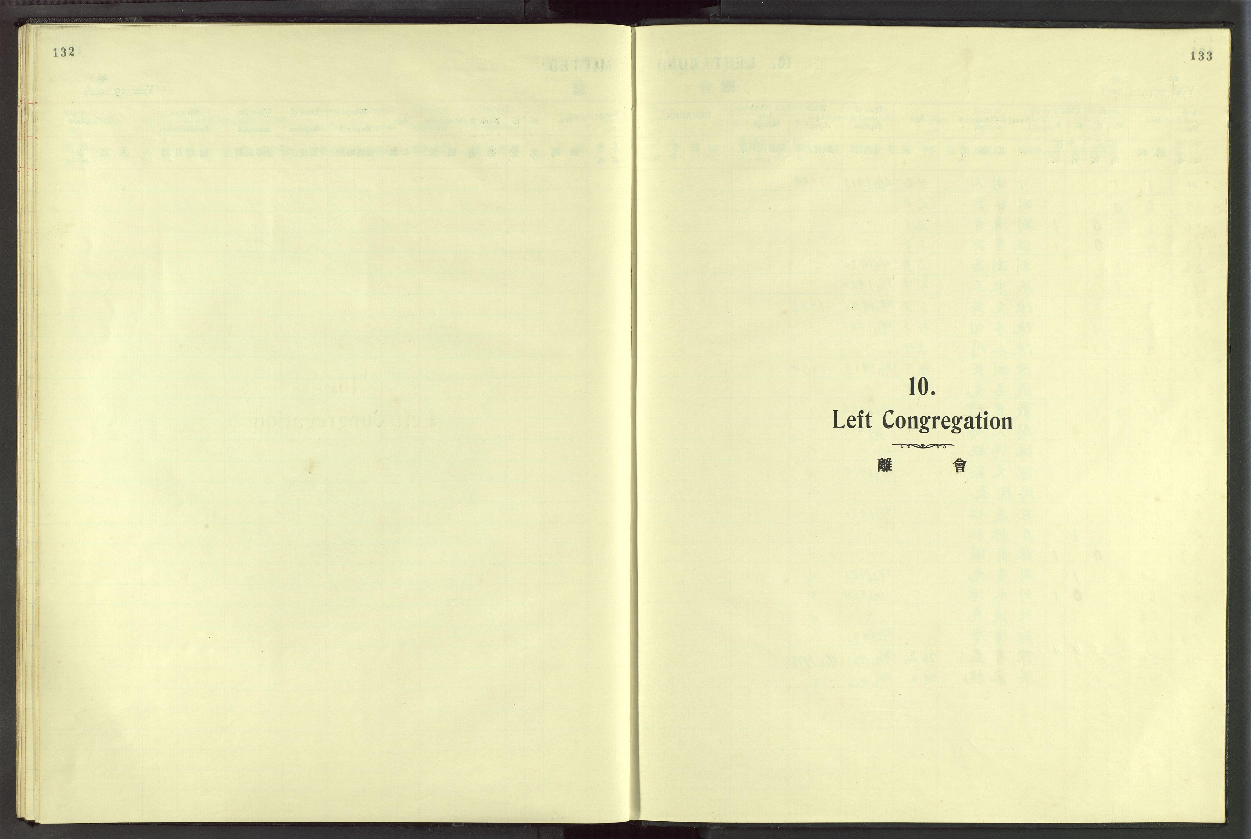 VID, Det Norske Misjonsselskap - utland - Kina (Hunan), Dm/L0046: Ministerialbok nr. 84, 1913-1938, s. 132-133