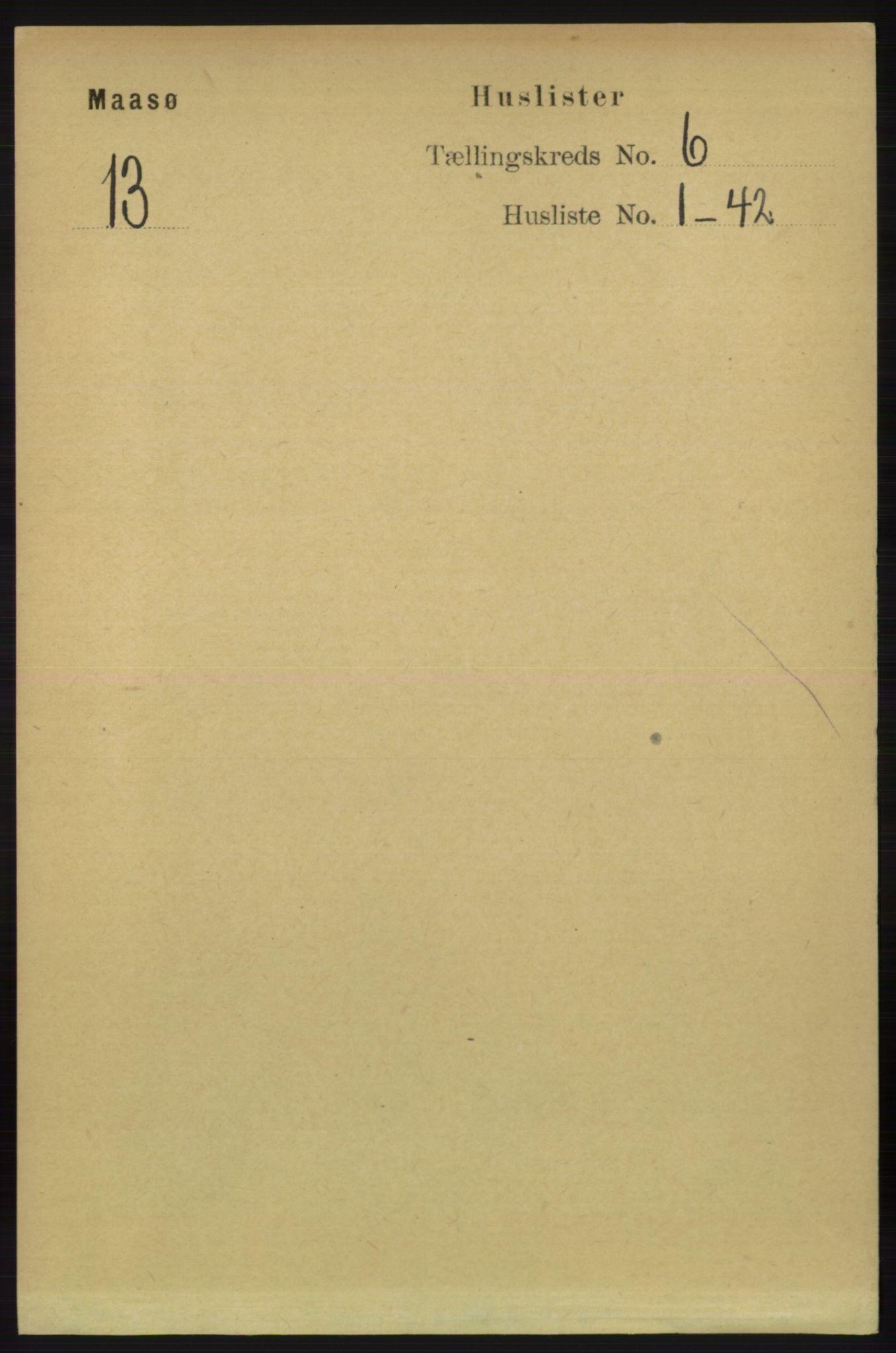 RA, Folketelling 1891 for 2018 Måsøy herred, 1891, s. 1078